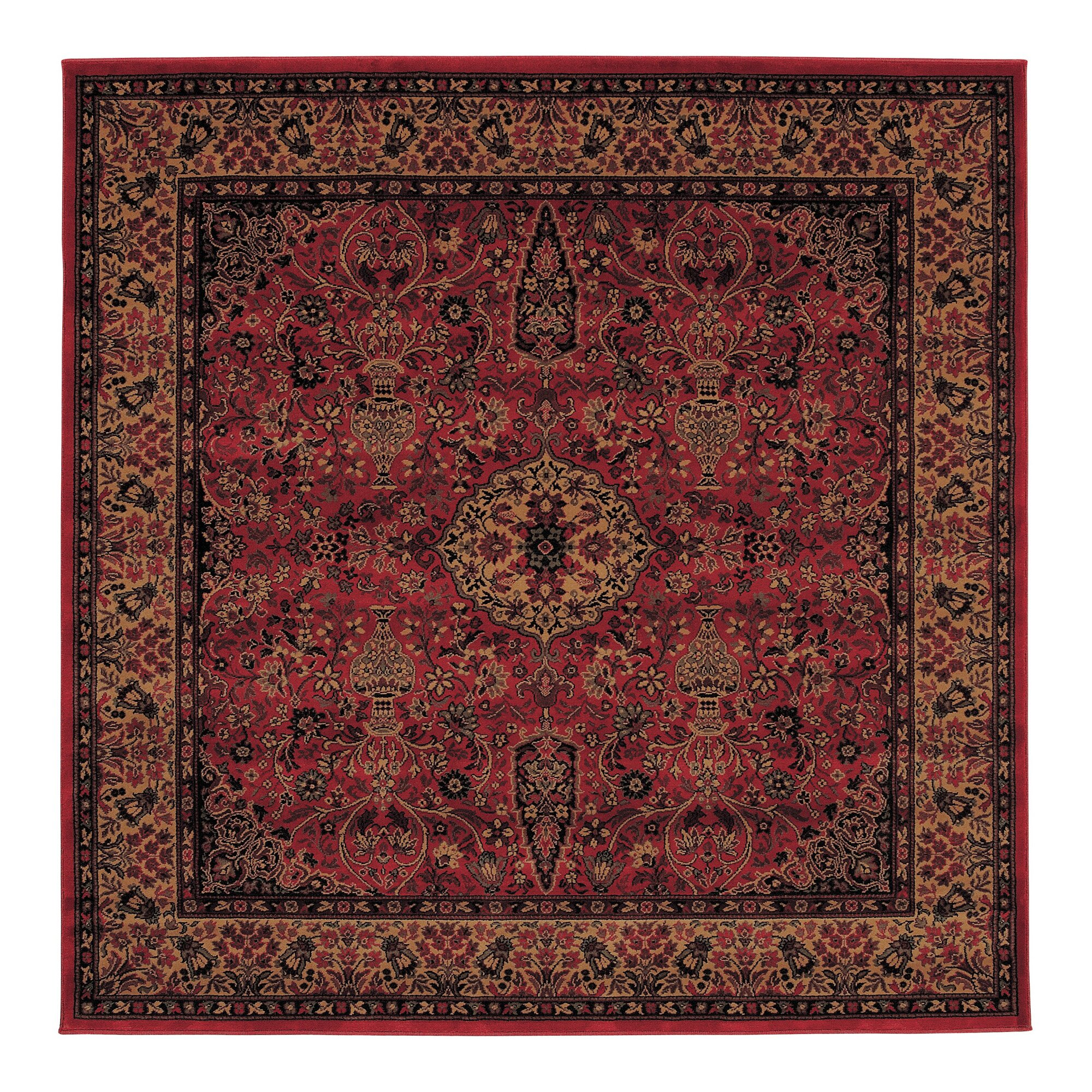 Couristan Everest Red Gold Area Rug Amp Reviews Wayfair