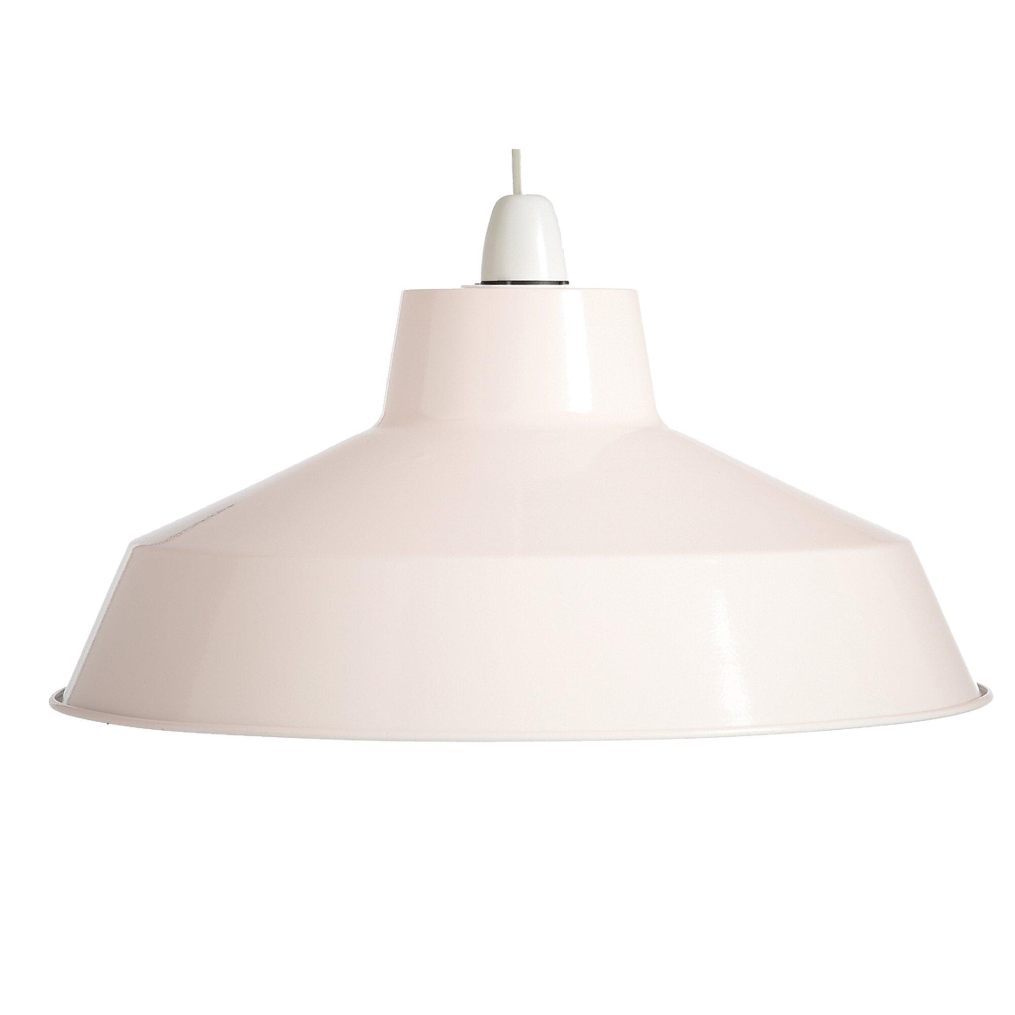 Metal Bell Lamp Shade: Loxton Lighting 35cm Pluto Metal Bell Shade & Reviews