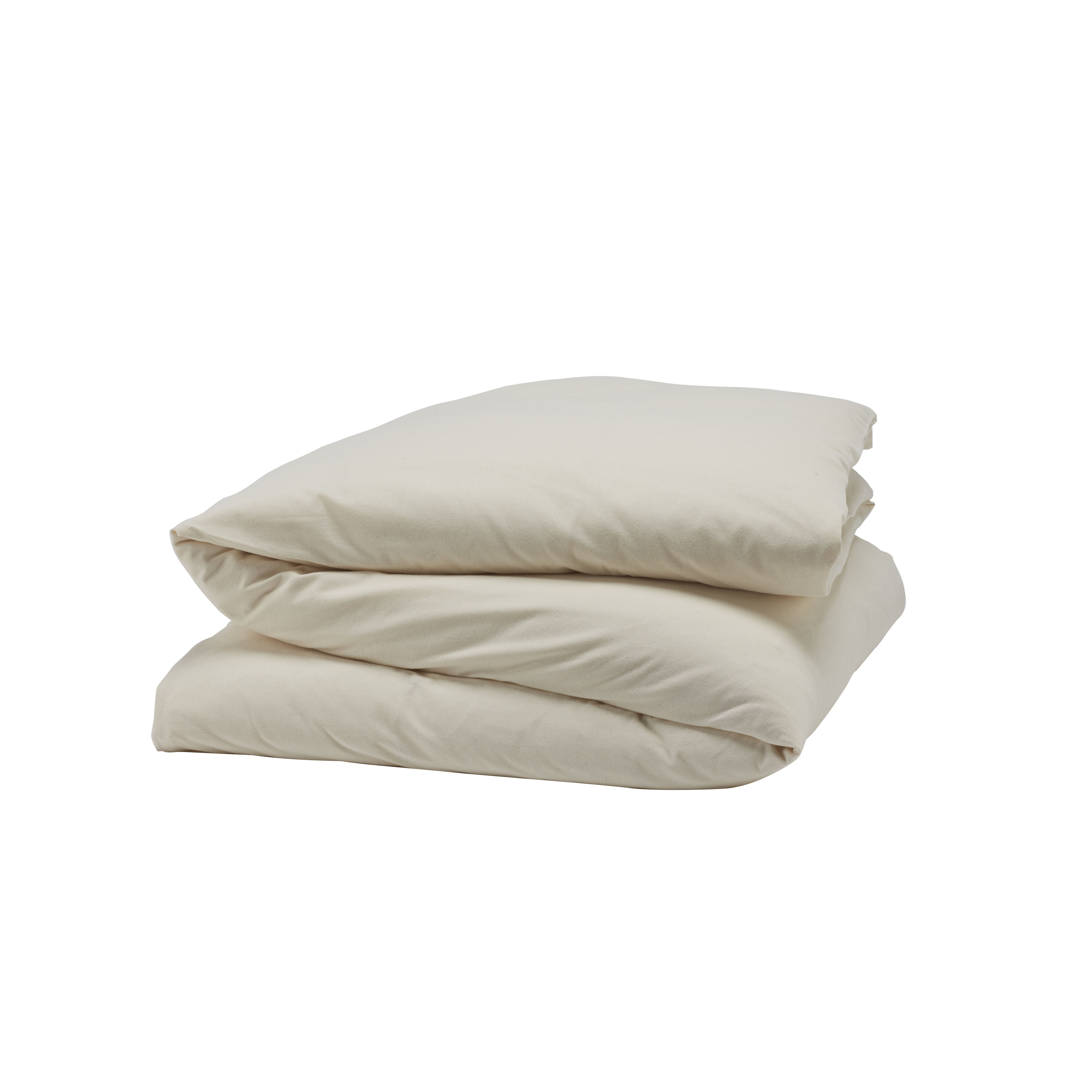 Coyuchi Cloud Brushed Flannel Duvet Cover Collection