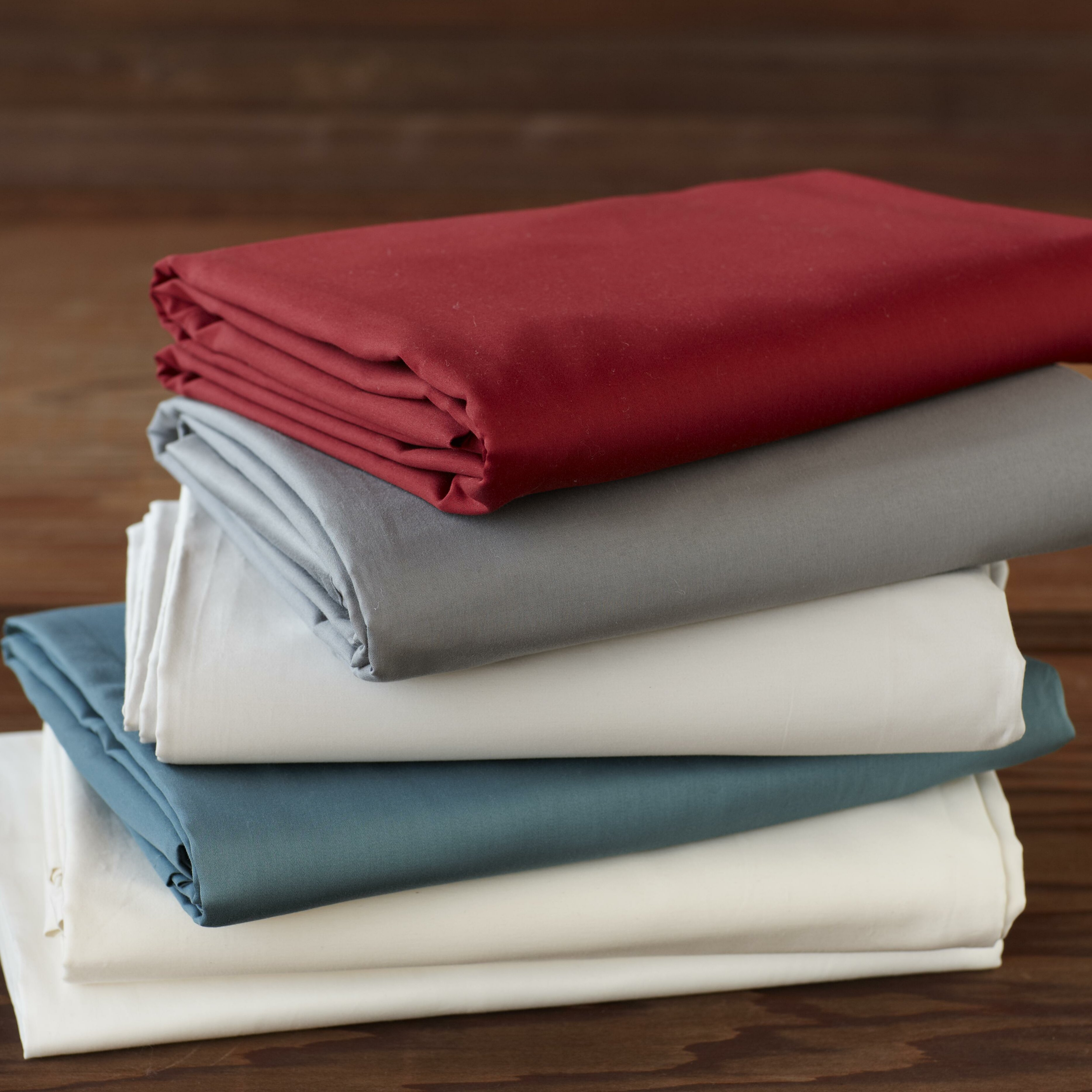 Coyuchi sateen 300 thread count sheet set reviews wayfair for What is thread count in sheets