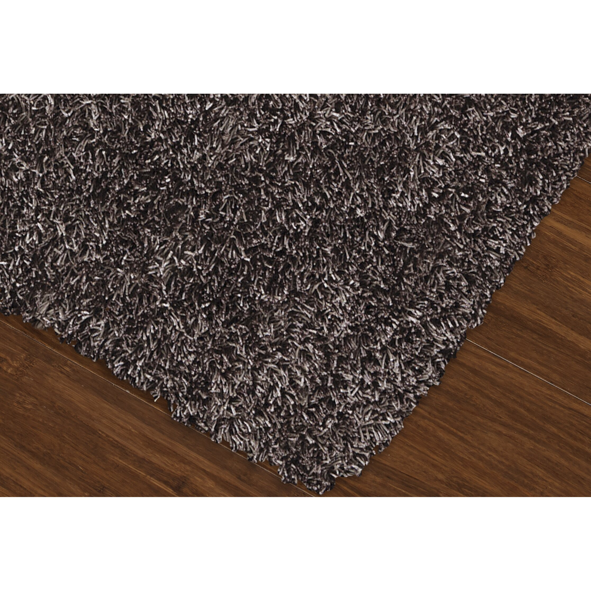 Dalyn rug co illusions grey shag rug reviews wayfair Gray shag rug