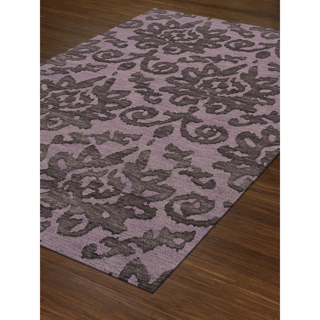 Purple Rug: Dalyn Rug Co. Bella Purple Area Rug