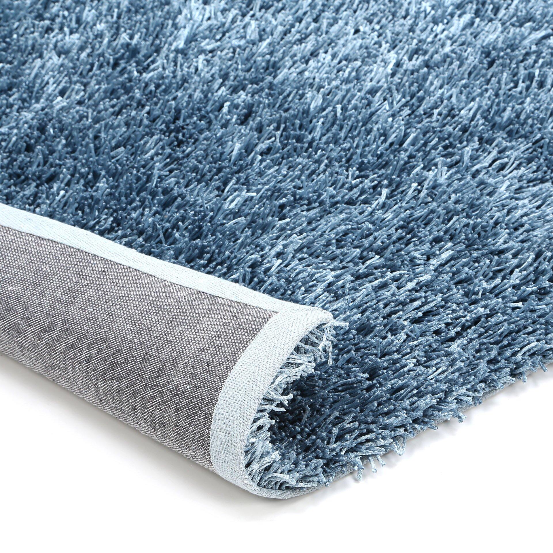 Dalyn Rug Co Illusions Shag Light Slate Blue Area Rug