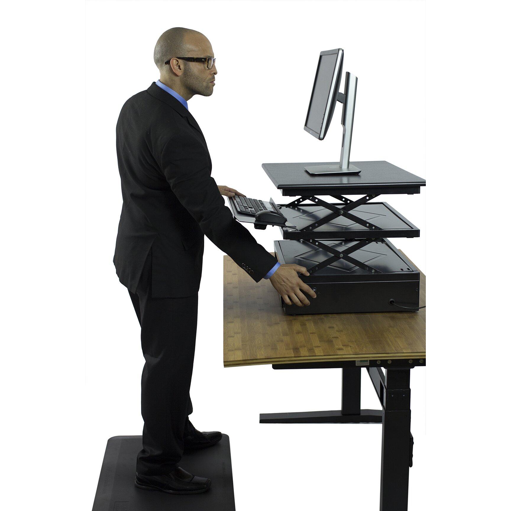 Uncaged Ergonomics 8 5 Quot H X 27 5 Quot W Standing Desk