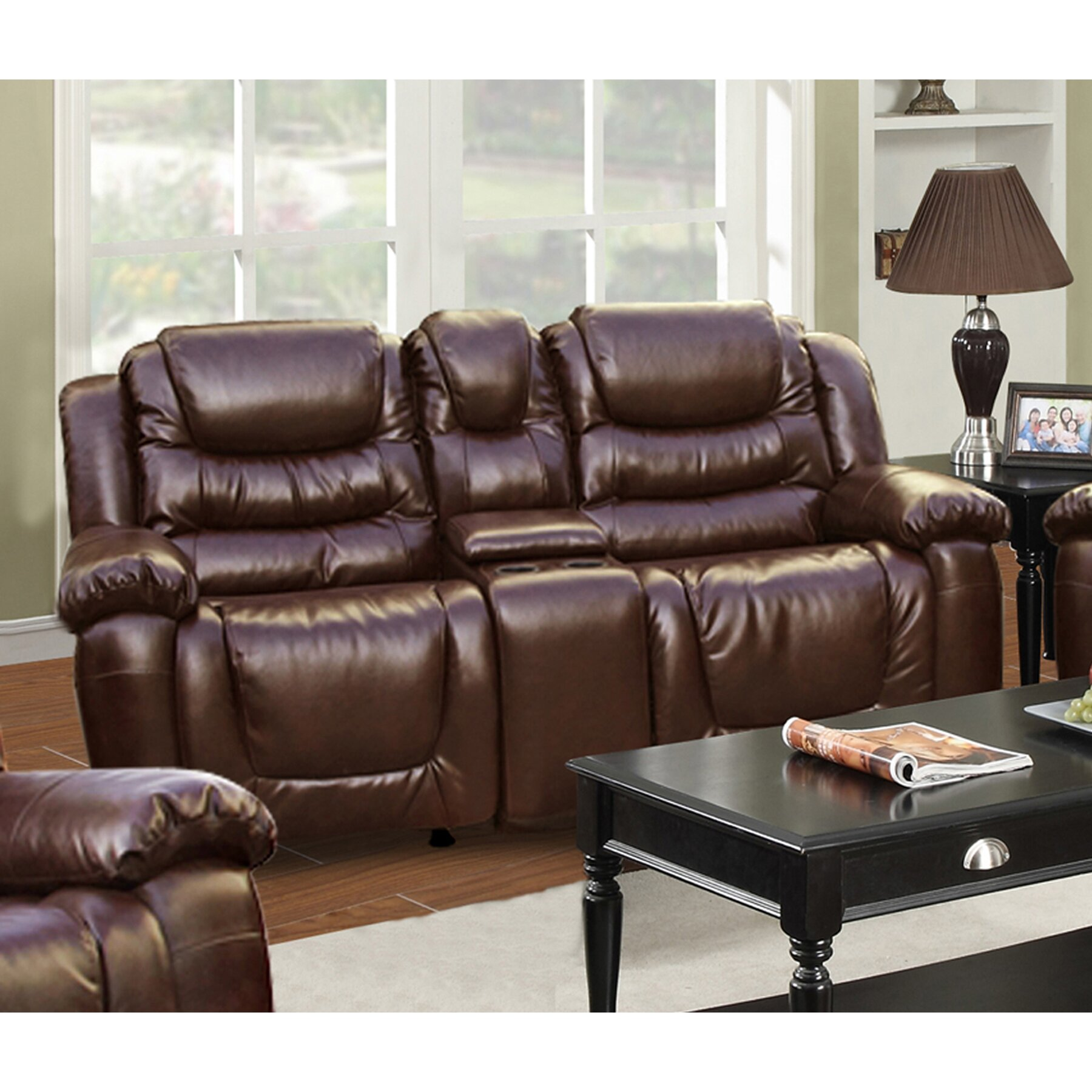 Beverly Fine Furniture Ottawa Rocking And Reclining Loveseat Reviews Wayfair: rocking loveseats