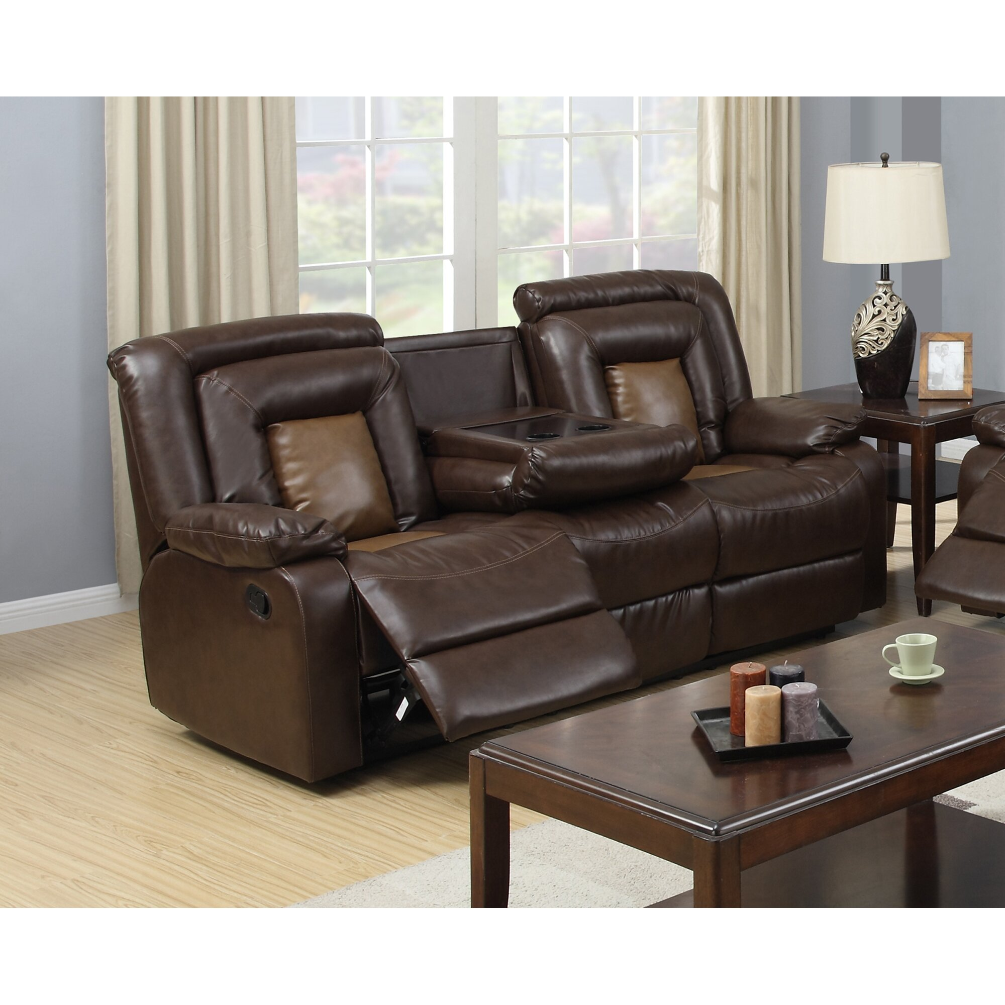 Beverly Fine Furniture Topeka Reclining Sofa Reviews