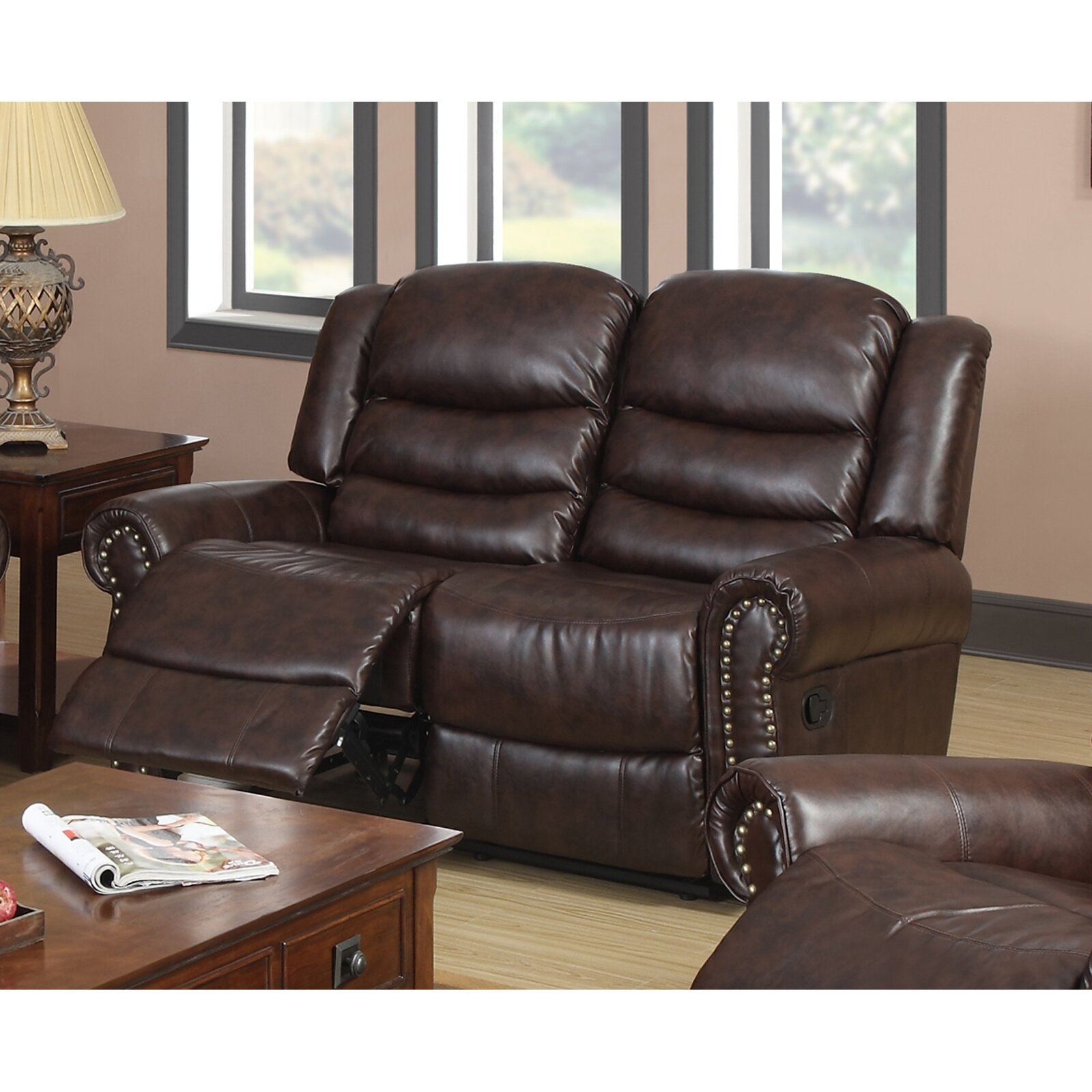 Beverly Fine Furniture Wausau Reclining Loveseat Reviews