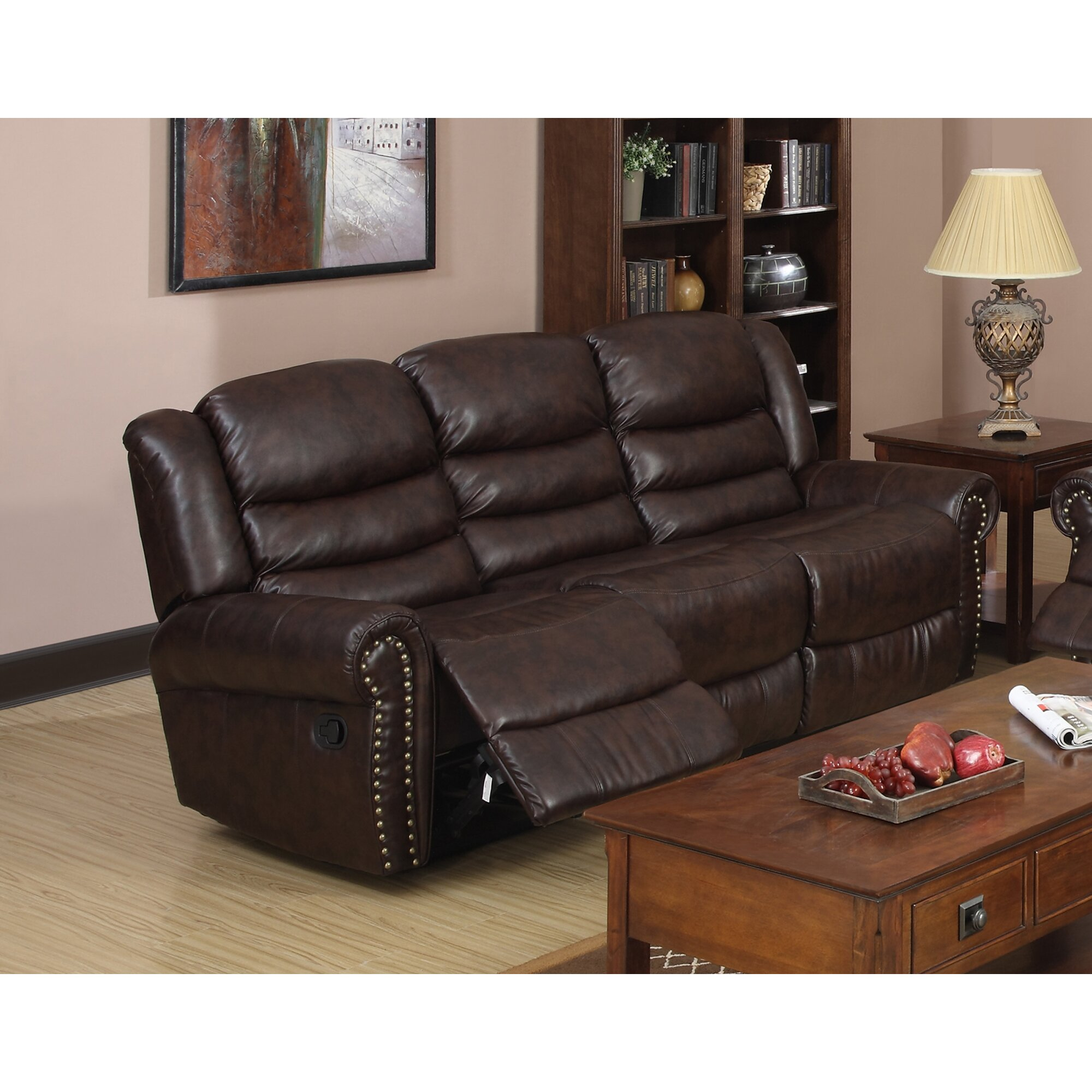 Beverly Fine Furniture Wausau Reclining Sofa Wayfair