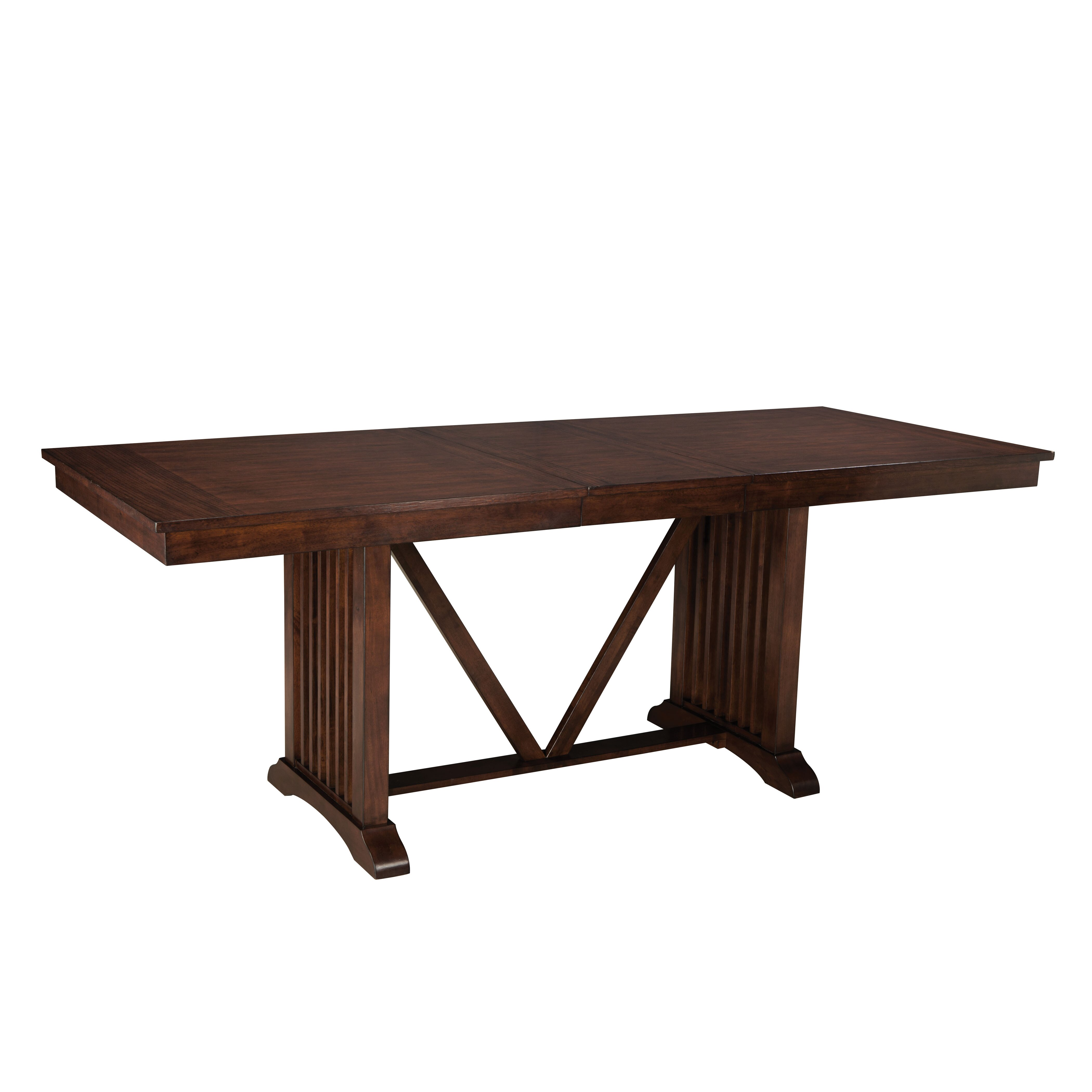 Standard furniture artisan loft counter height table for Table standard