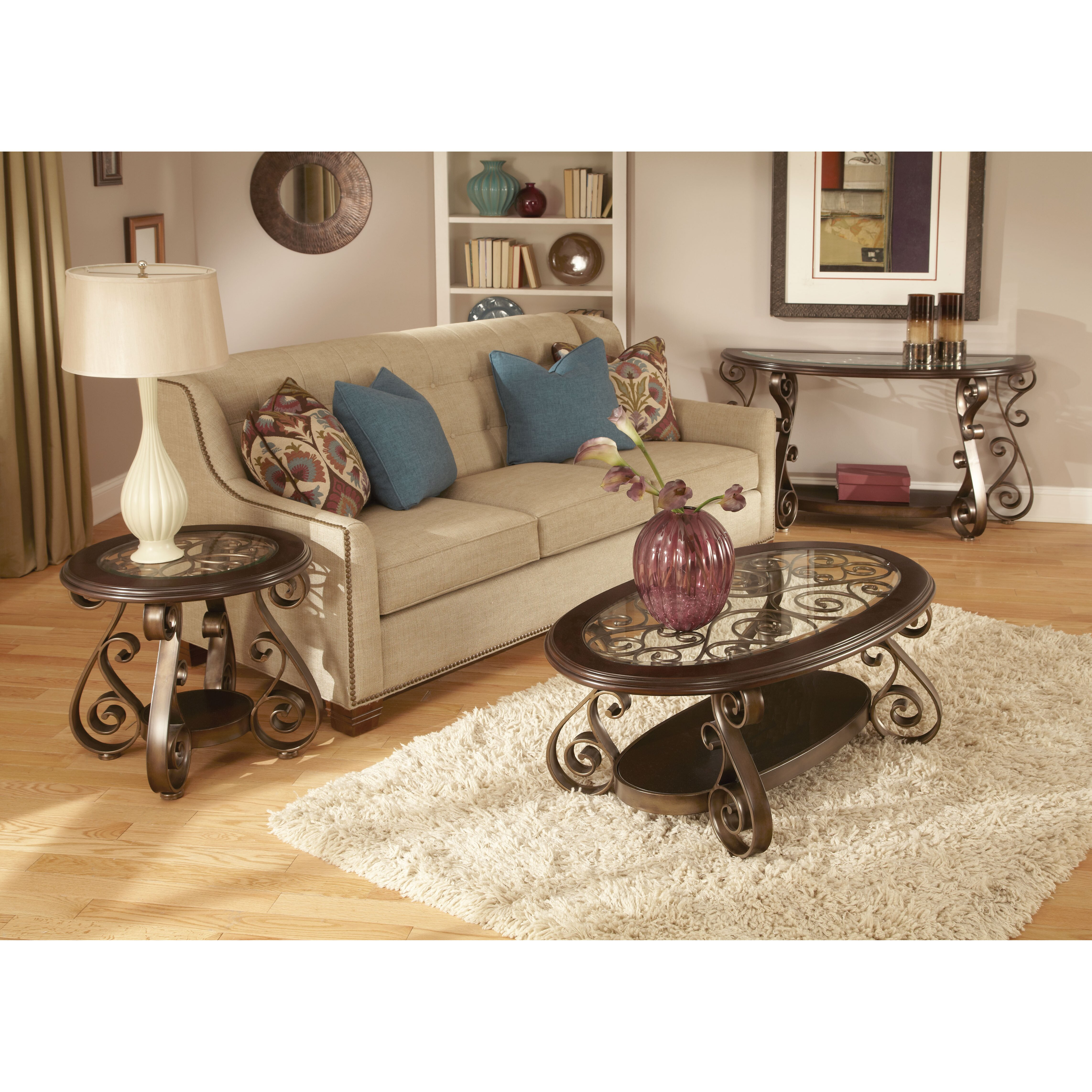 Standard Furniture Bombay End Table