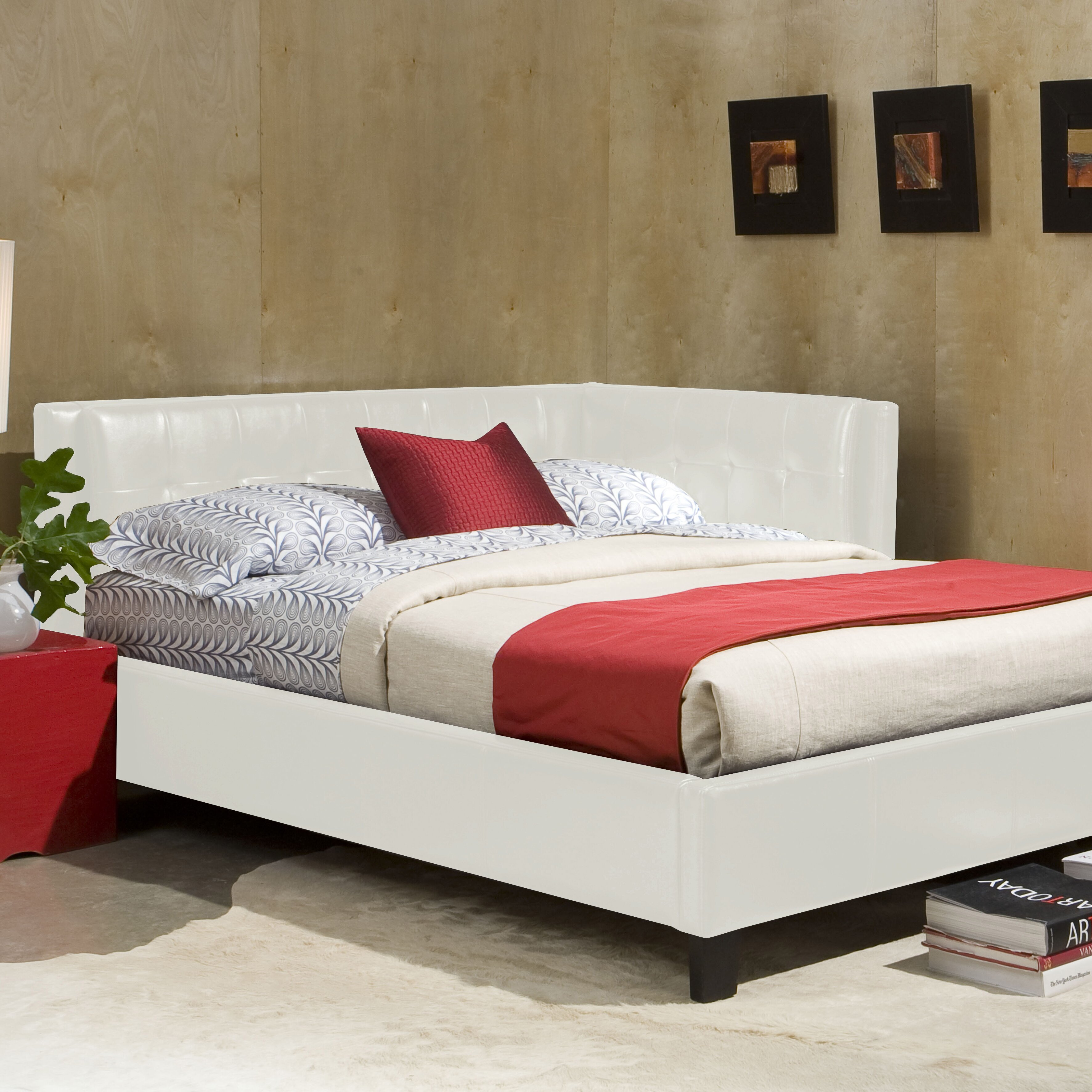 Standard Furniture Rochester Upholstered Bed Amp Reviews