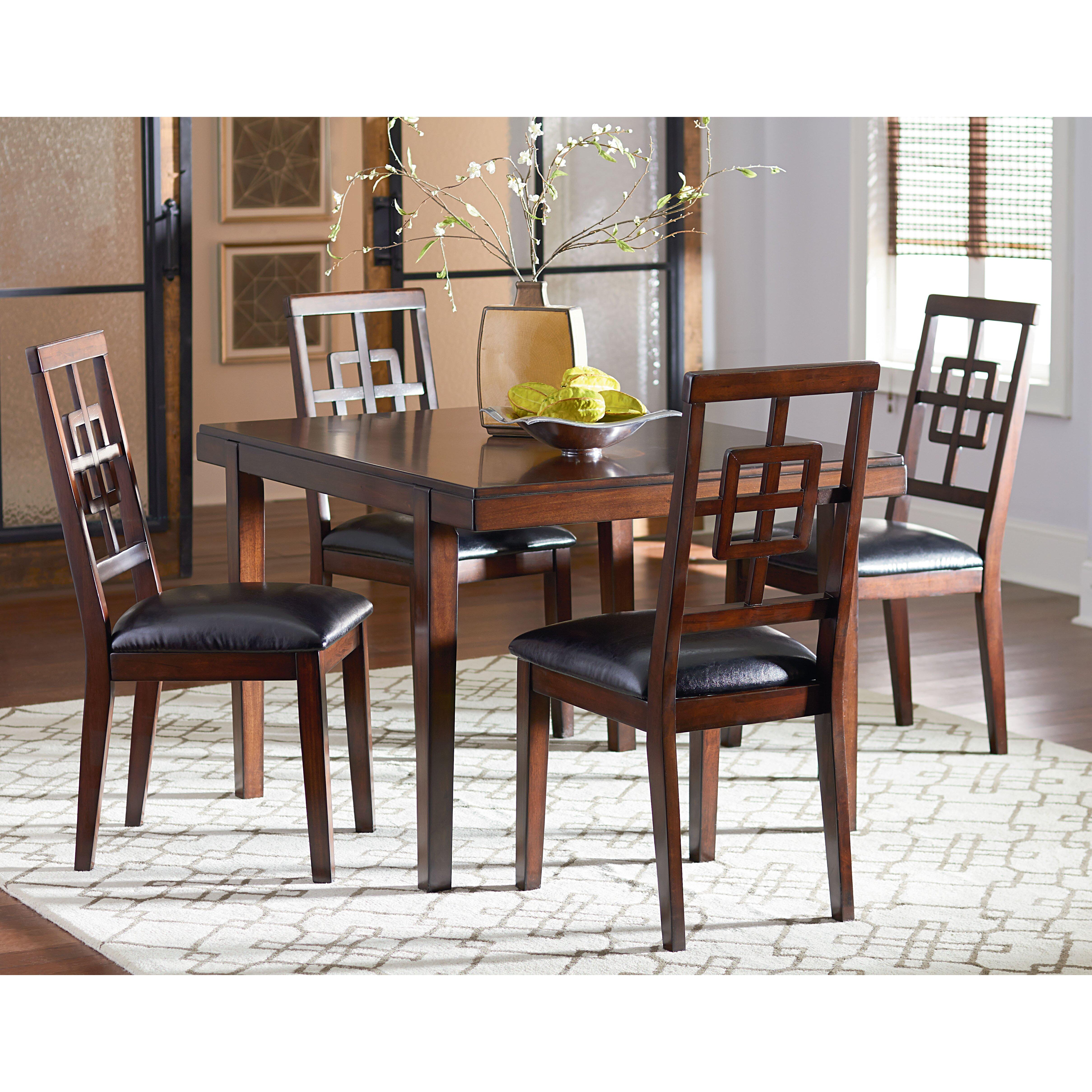 Darby home co remington 5 piece dining set reviews wayfair for 5 piece dining set