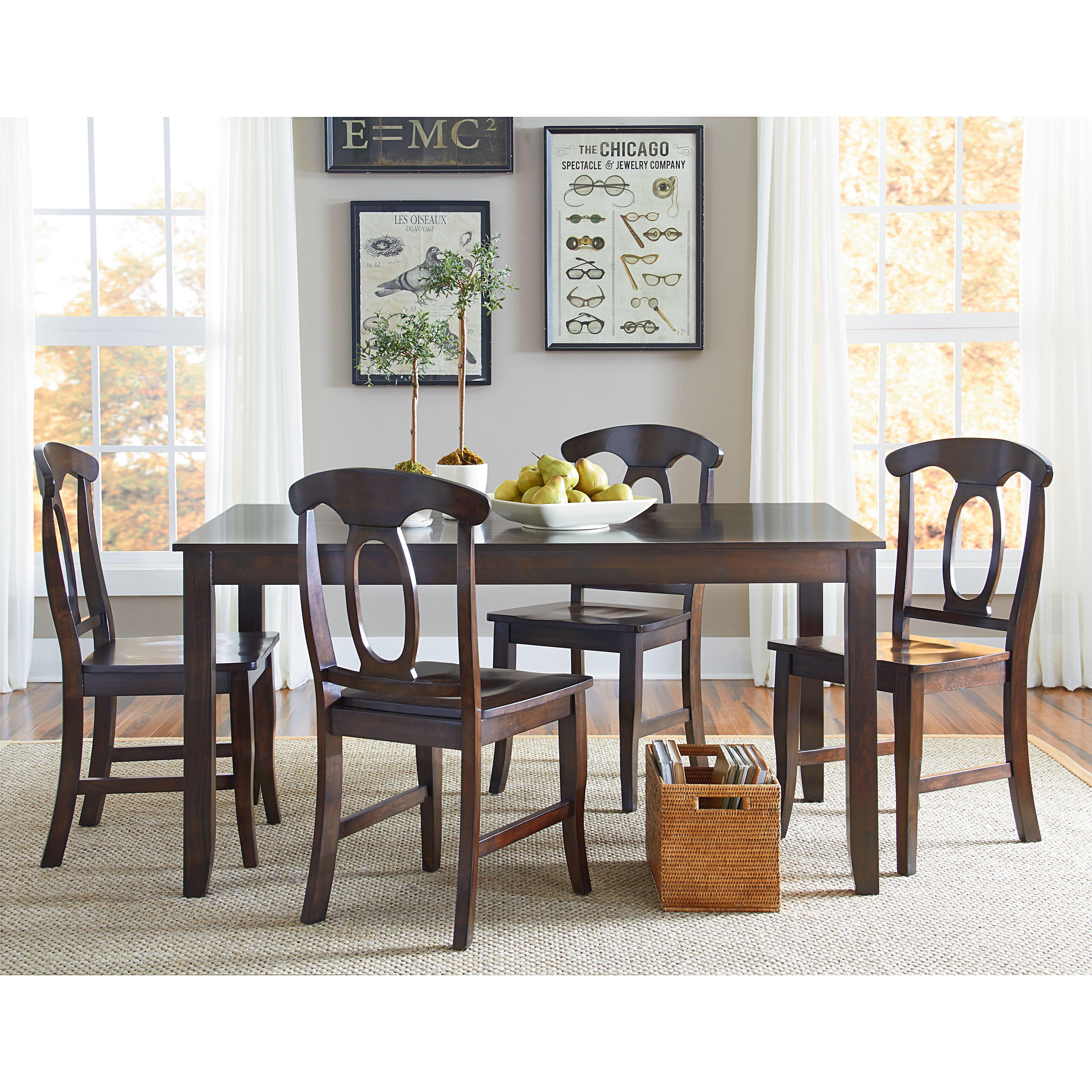 Standard Furniture Larkin 5 Piece Dining Set & Reviews