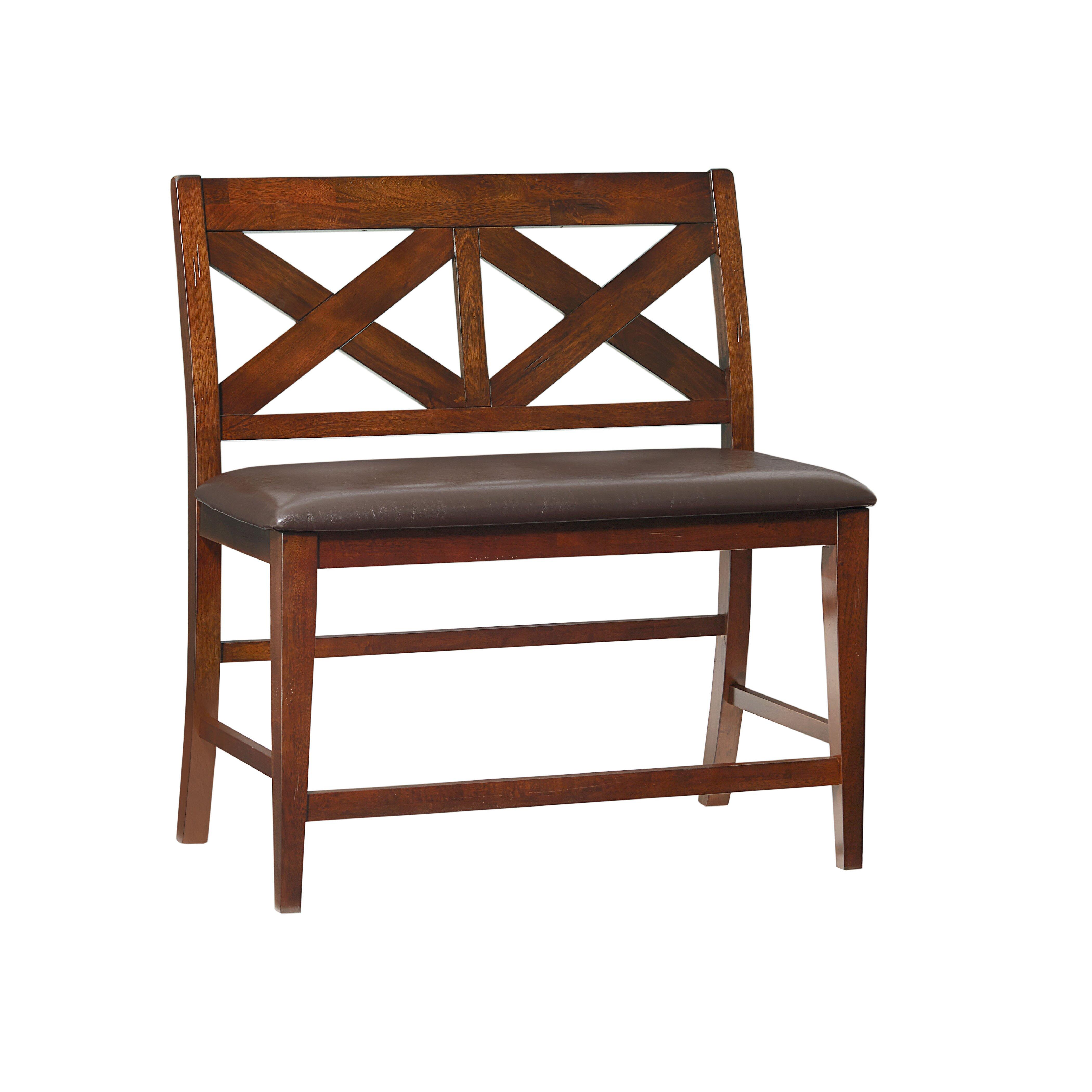 Standard Furniture Omaha Wood Kitchen Bench & Reviews
