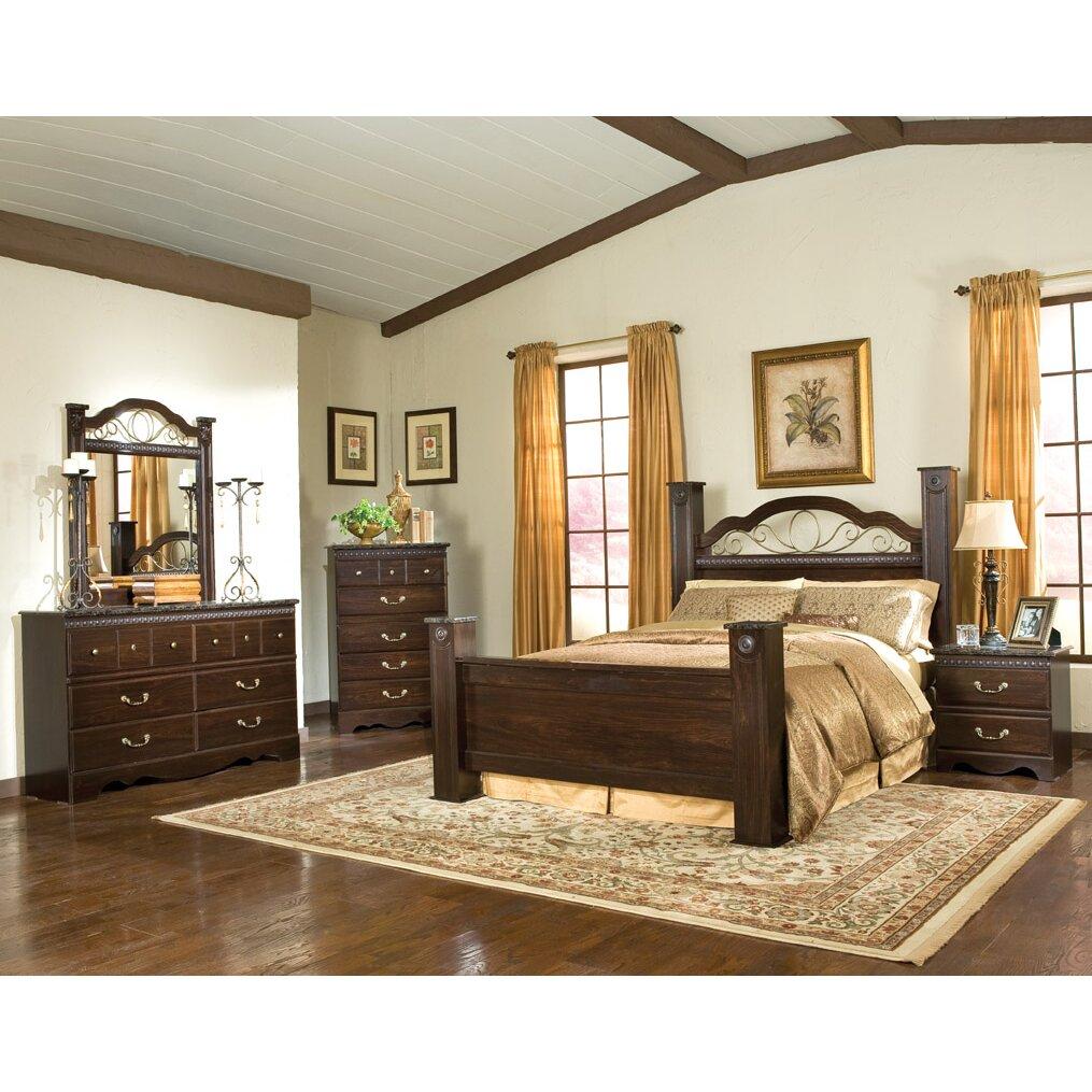 standard furniture sorrento panel customizable bedroom set wayfair. Black Bedroom Furniture Sets. Home Design Ideas