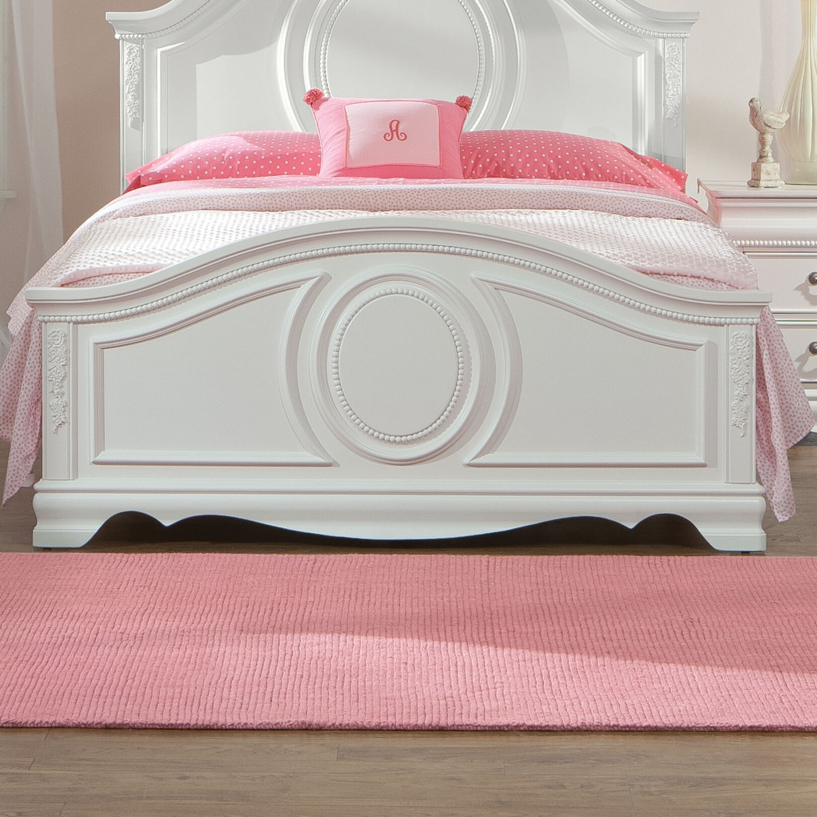 Standard furniture jessica panel customizable bedroom set reviews wayfair - Jessica bedroom set ...