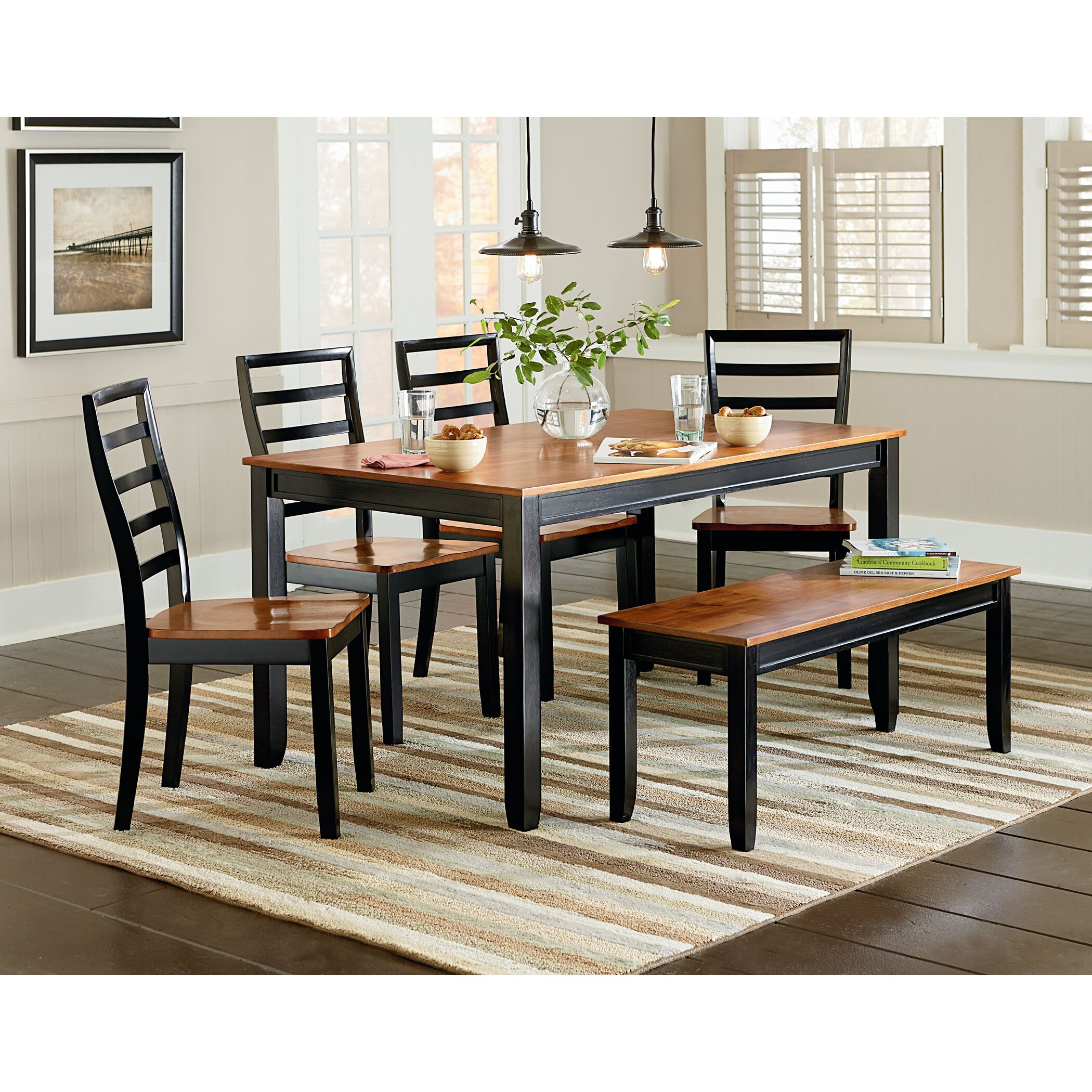 Standard Furniture Pendleton 5 Piece Dining Room Set In: Standard Furniture Lexford 5 Piece Dining Set & Reviews