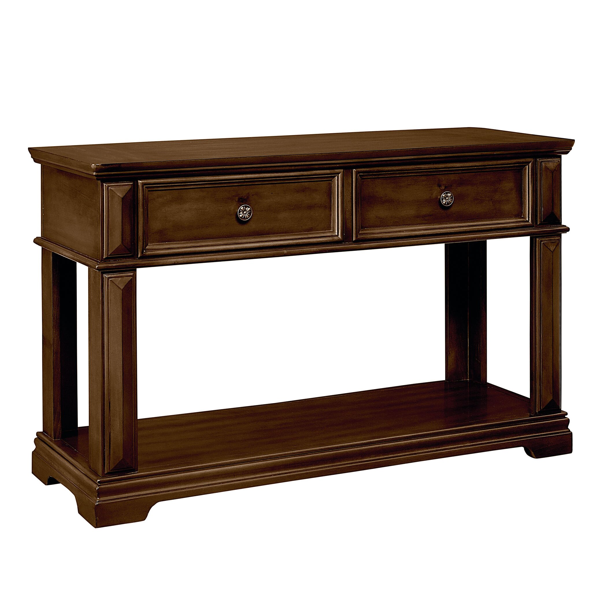 standard furniture charleston console table wayfair. Black Bedroom Furniture Sets. Home Design Ideas