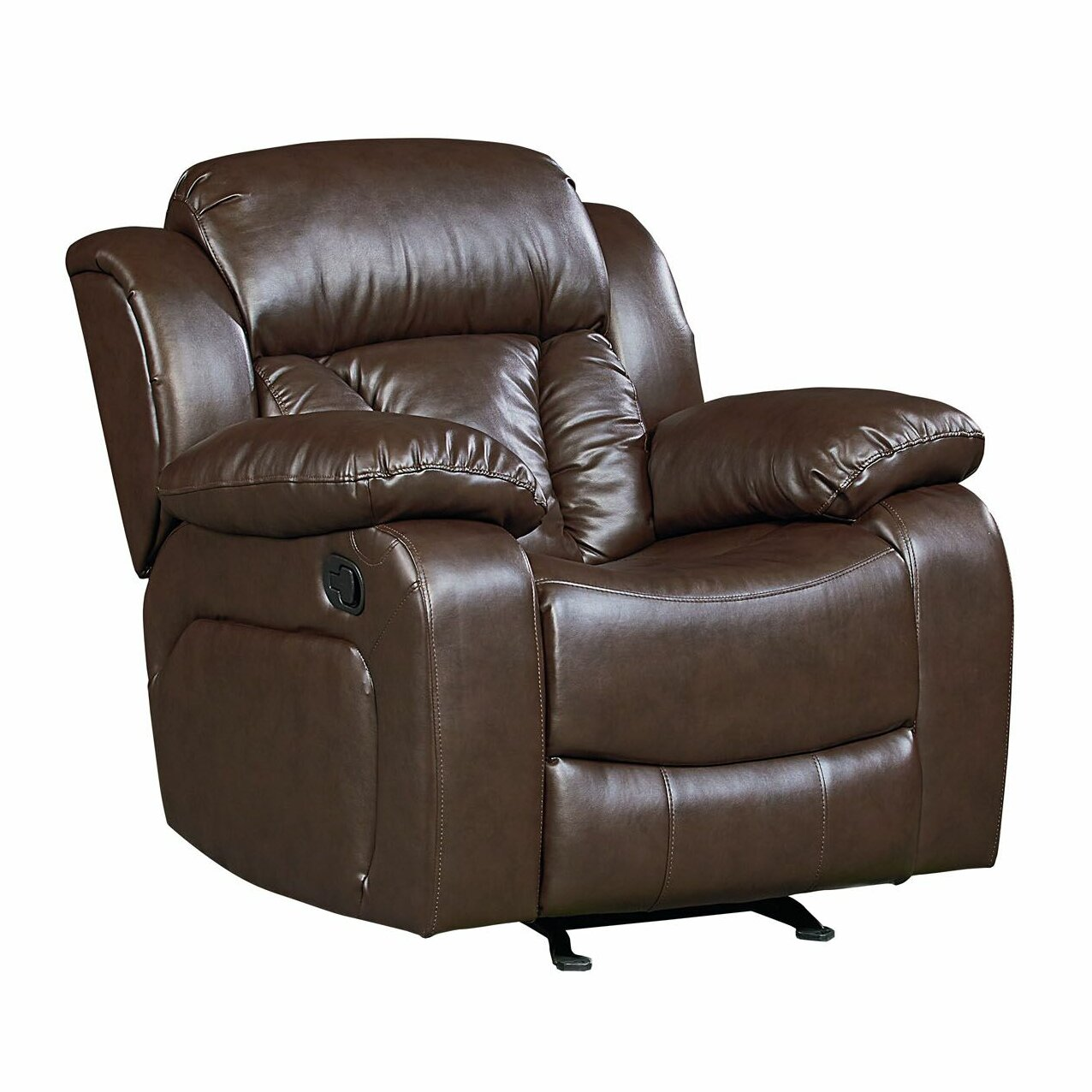 Red Barrel Studio Delaney Faux Leather Rocker Recliner