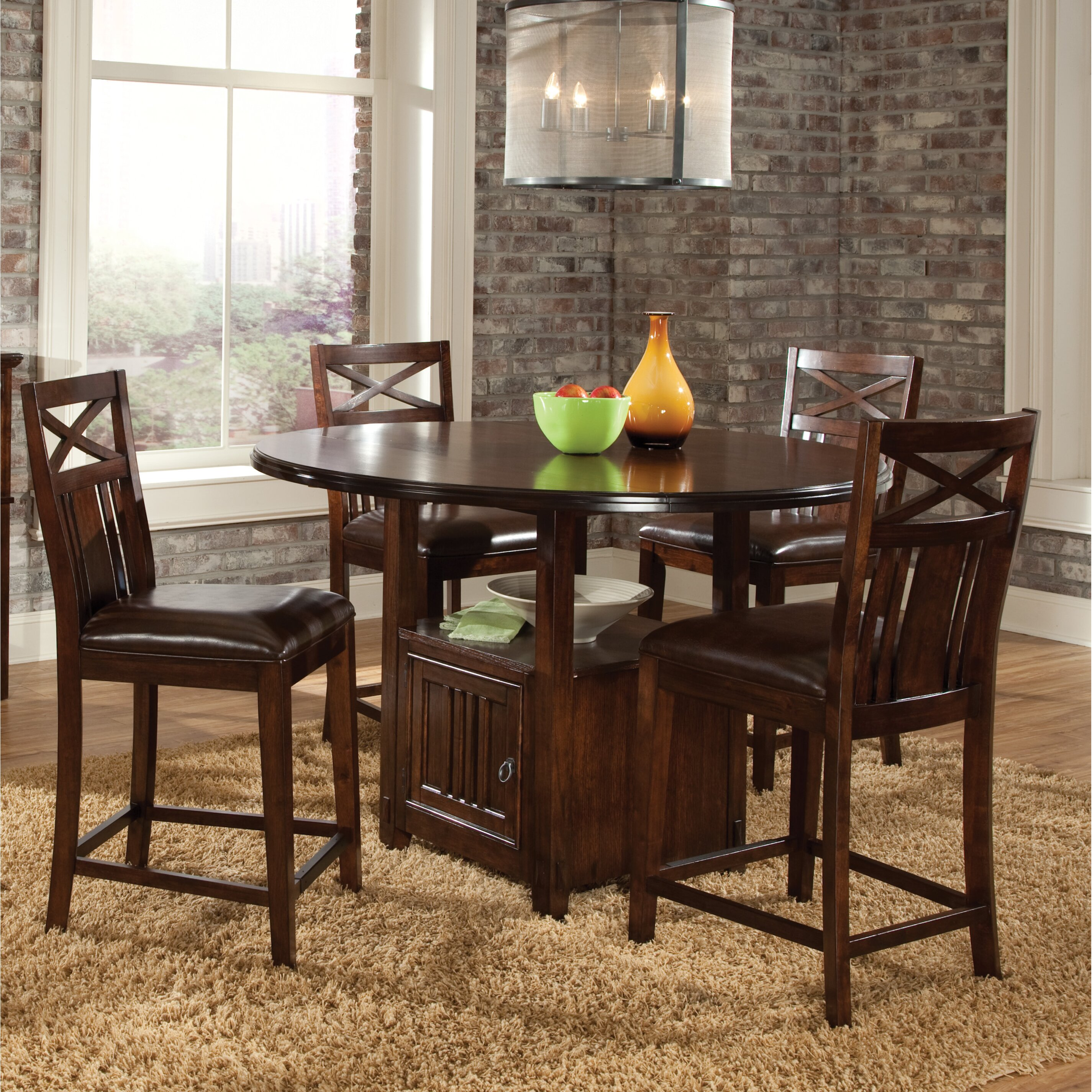 Standard Furniture Dining Room Sets: Standard Furniture Sonoma 5 Piece Dining Set & Reviews