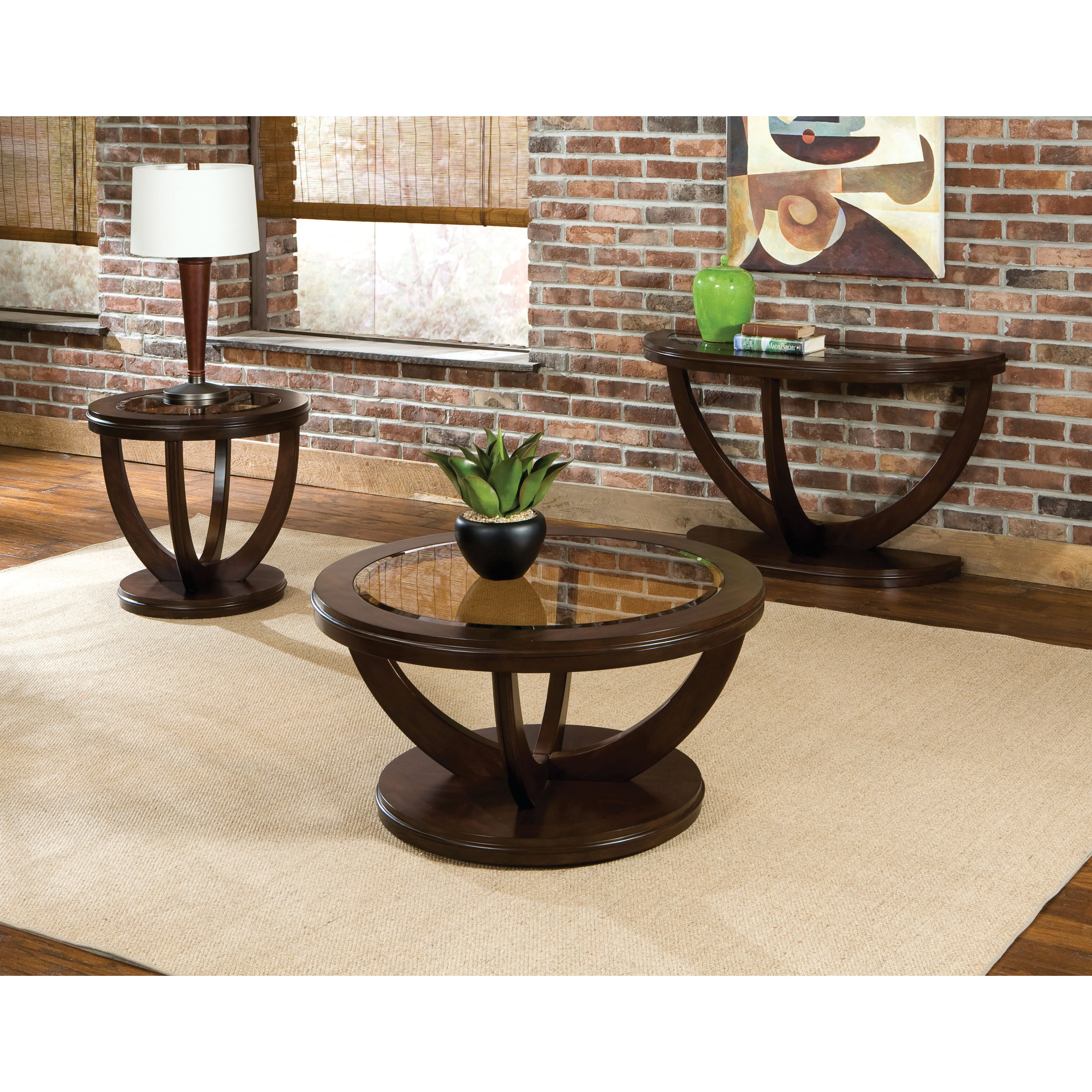 High End Round Coffee Tables: Standard Furniture La Jolla Coffee Table & Reviews