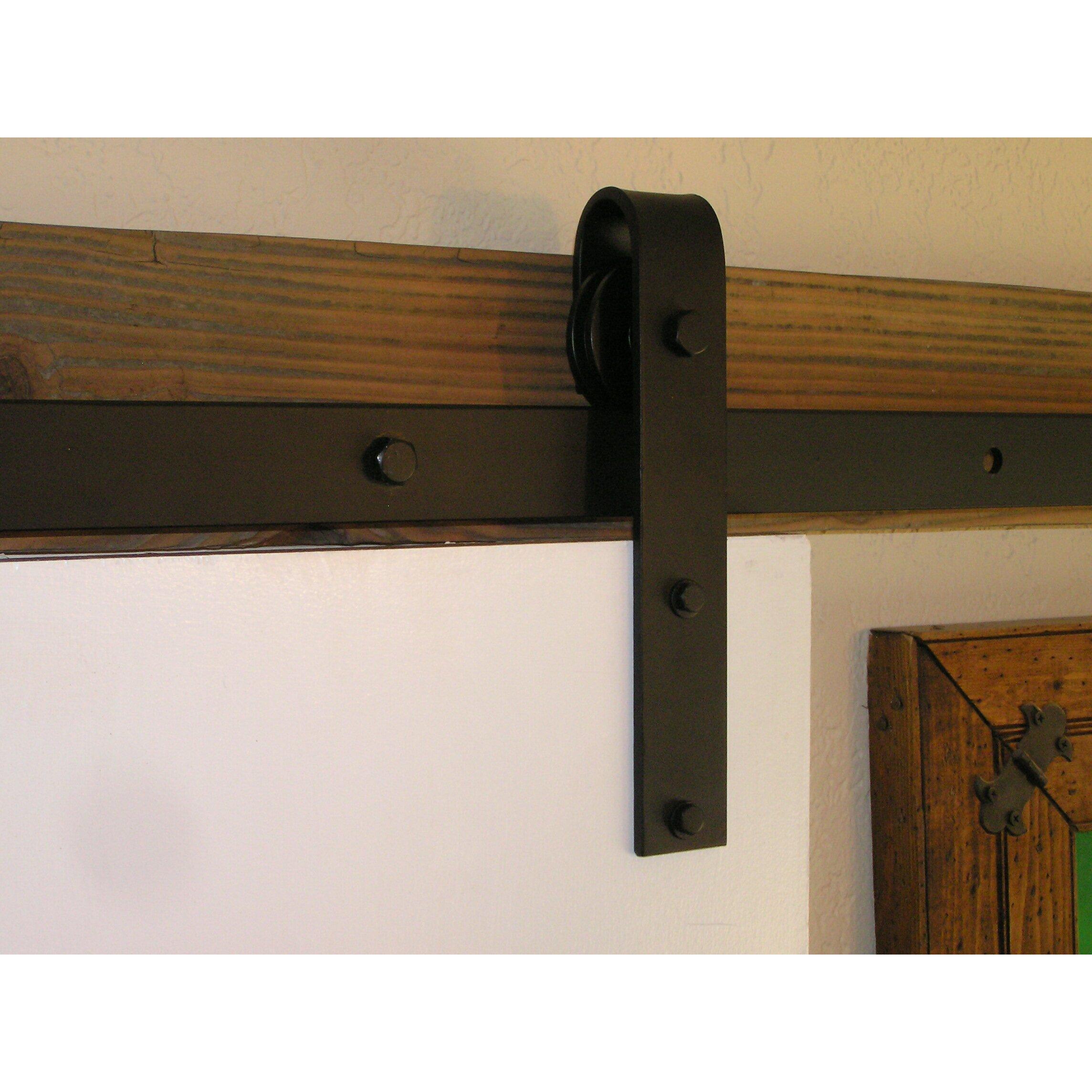 rolling barn door hardware kit