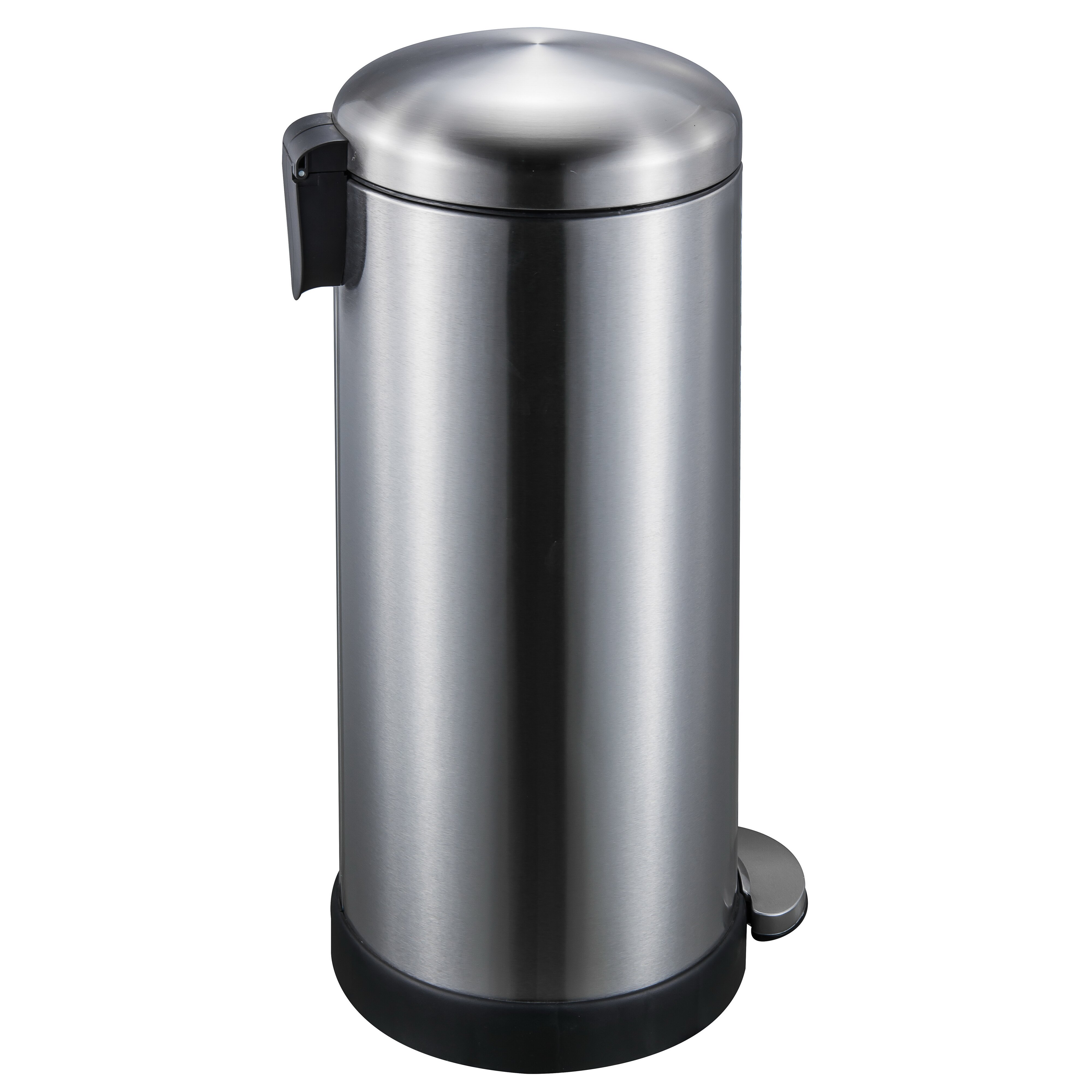 joyware 8 gallon step on stainless steel trash can reviews. Black Bedroom Furniture Sets. Home Design Ideas