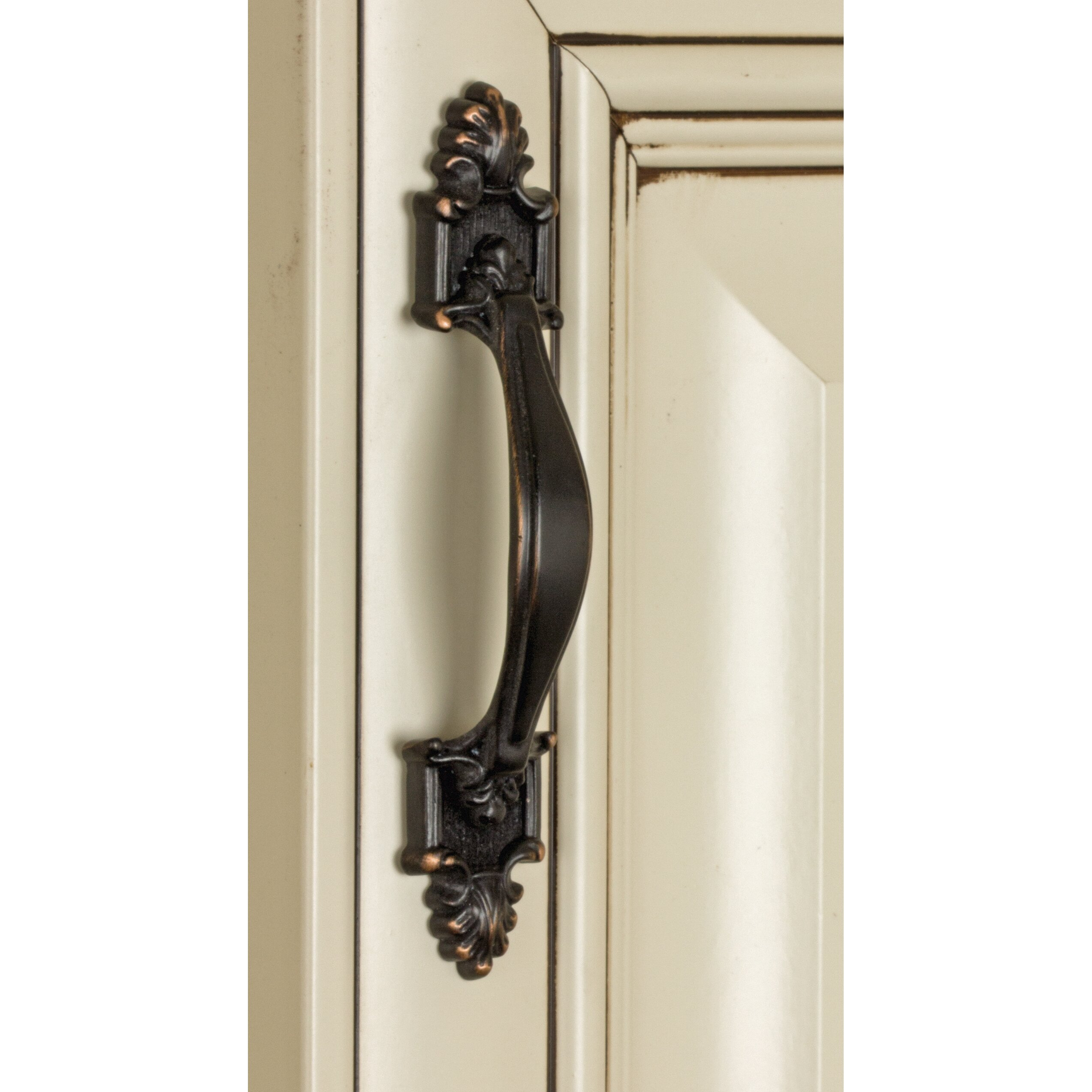 gliderite hardware classic deco 3 1 2 center arch pull reviews wayfair. Black Bedroom Furniture Sets. Home Design Ideas