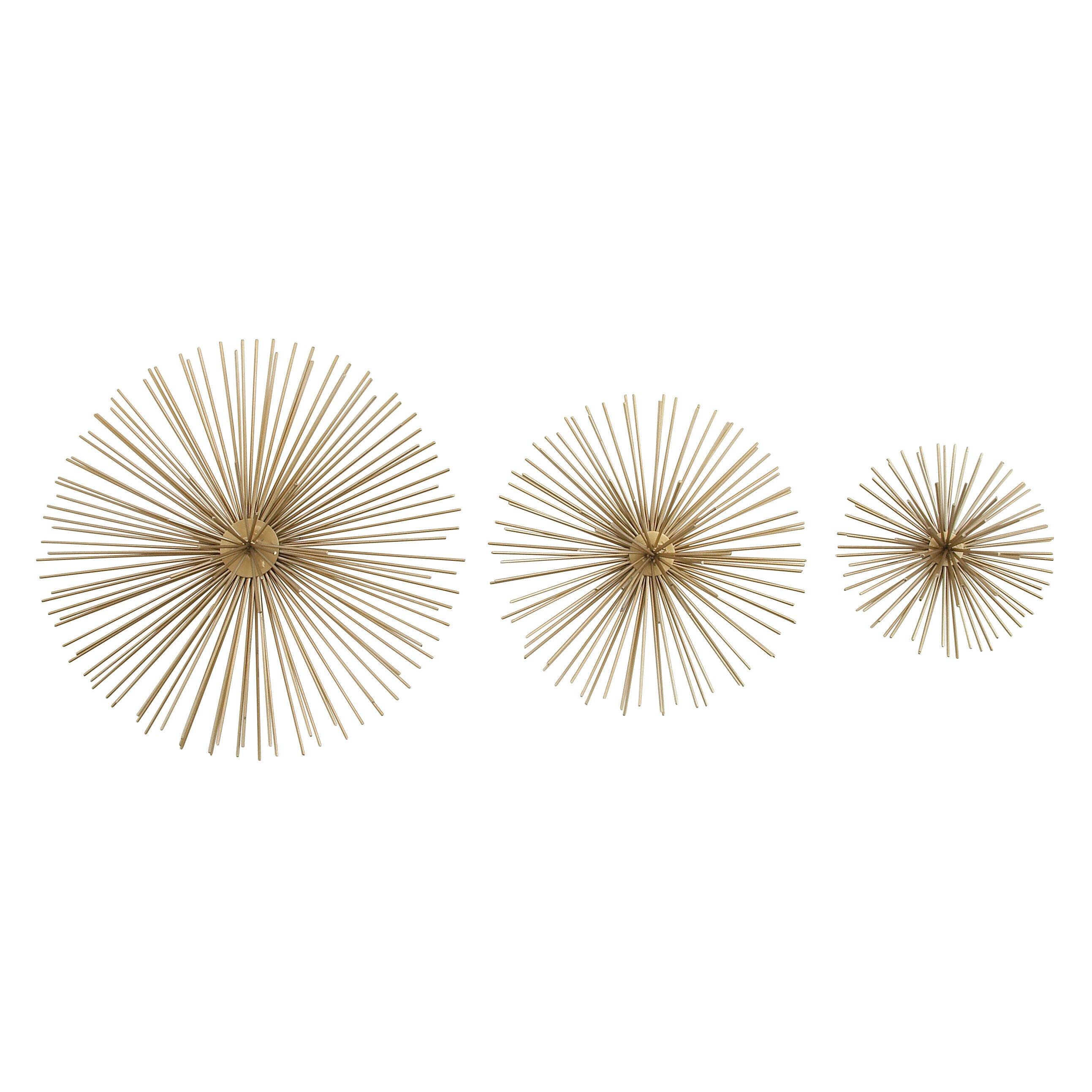Glass Star Wall Decor : Cole grey piece star wall decor set reviews wayfair