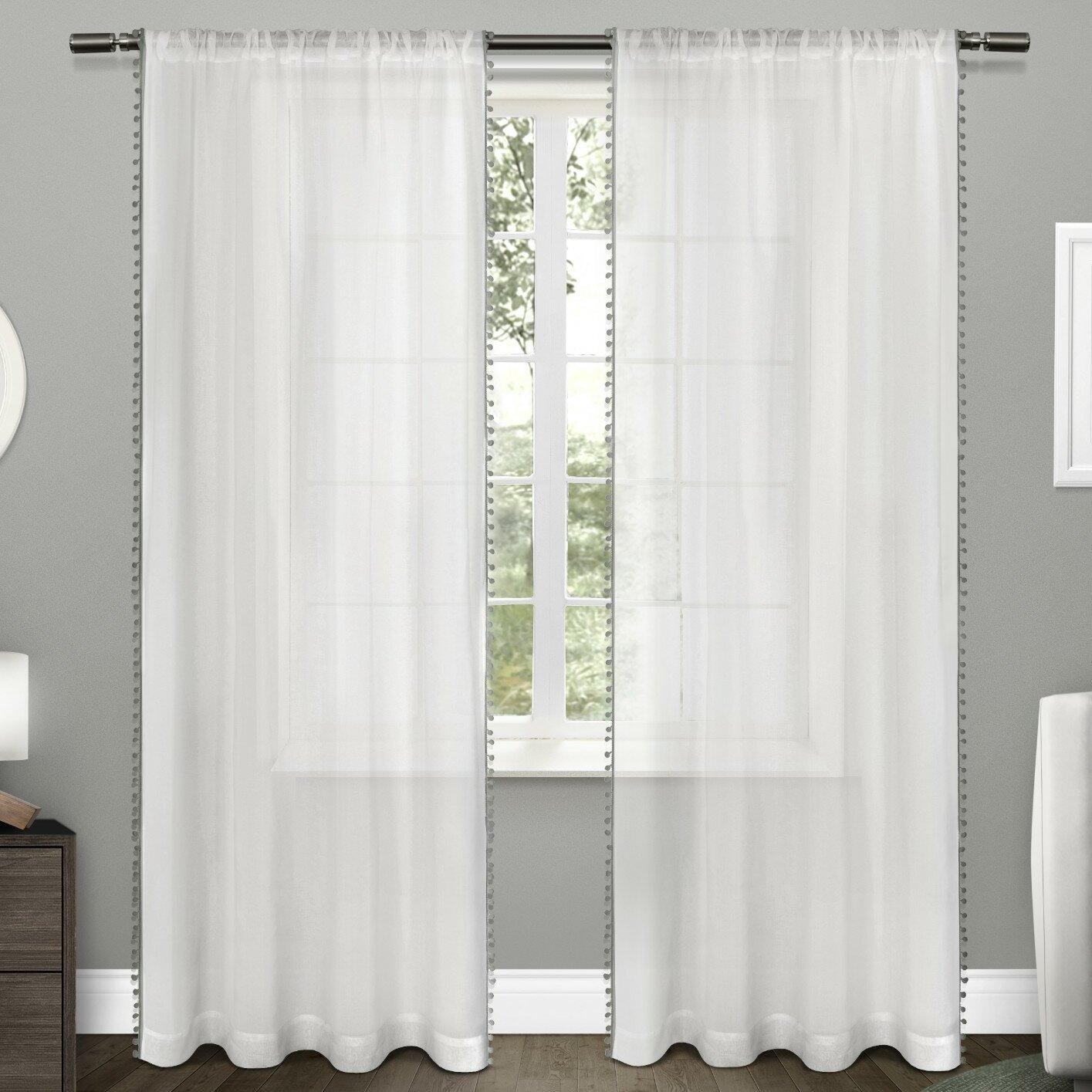 Amalgamated Textiles Pom Pom Curtain Panels Reviews