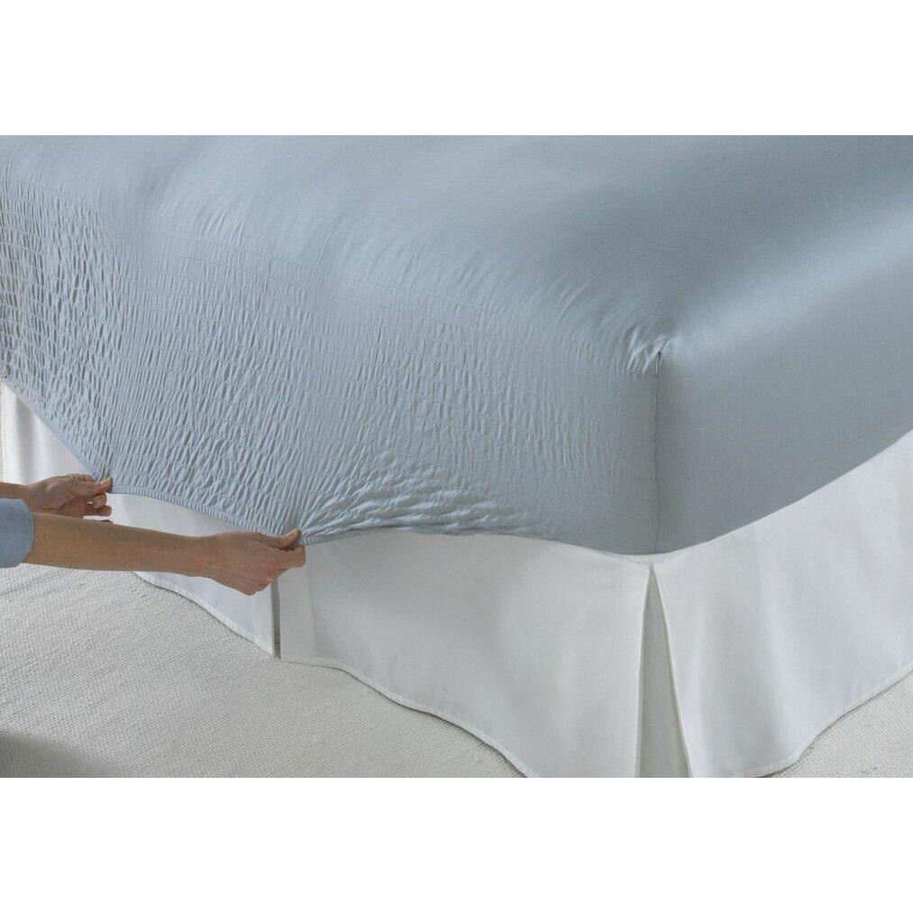 bed tite solid 300 thread count deep pocket sheet set reviews wayfair. Black Bedroom Furniture Sets. Home Design Ideas