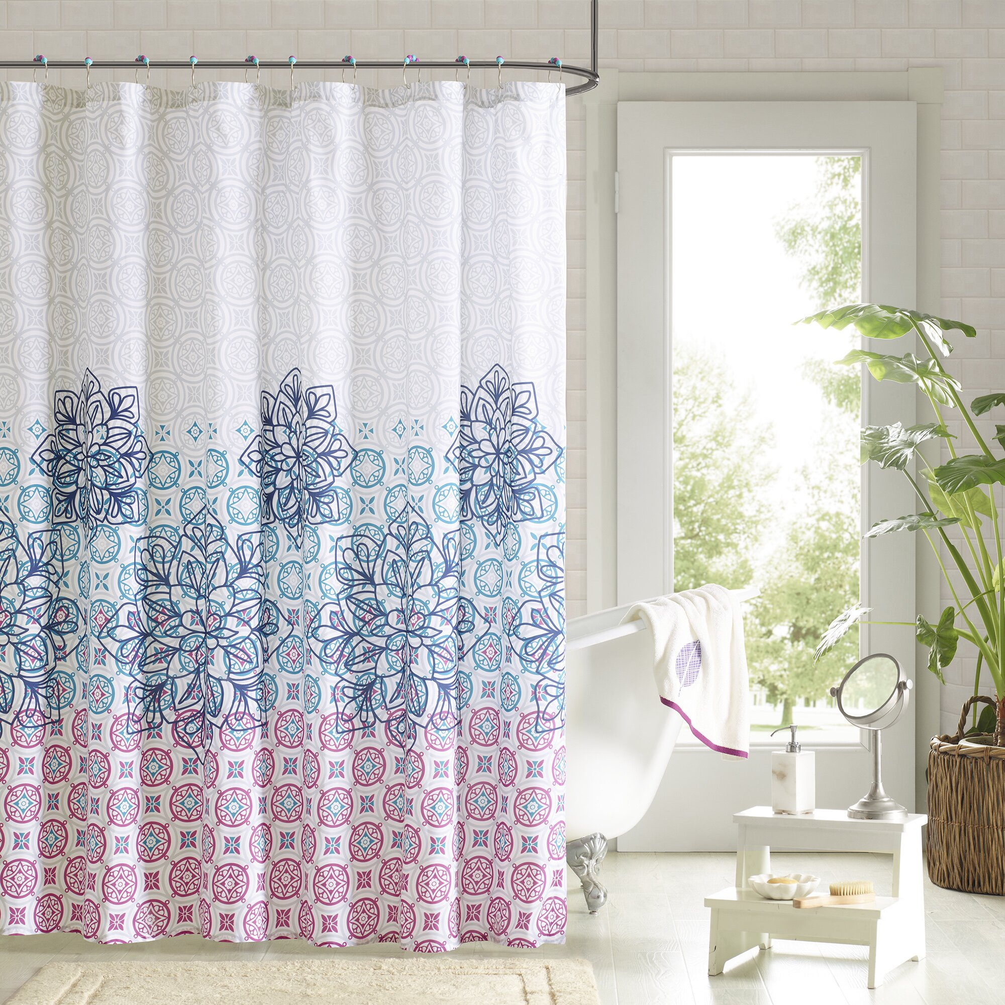 90 by design lab jessica 14 piece shower curtain set