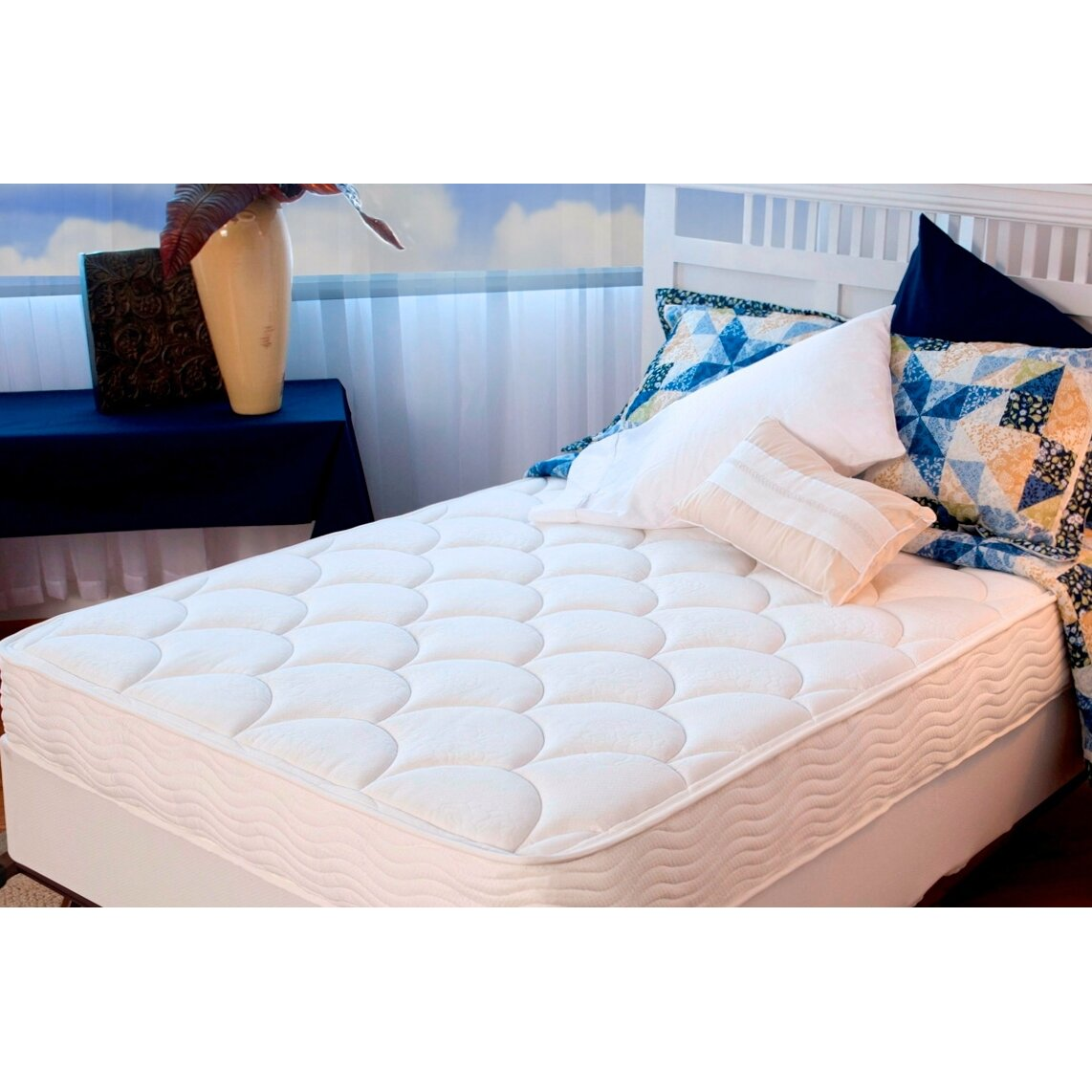 """Tight Top Mattress: OrthoTherapy 8"""" Tight Top Spring Mattress & Reviews"""