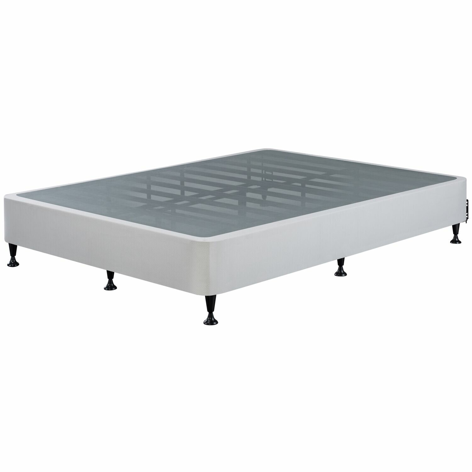 Twin Metal Bed Frame With Springs