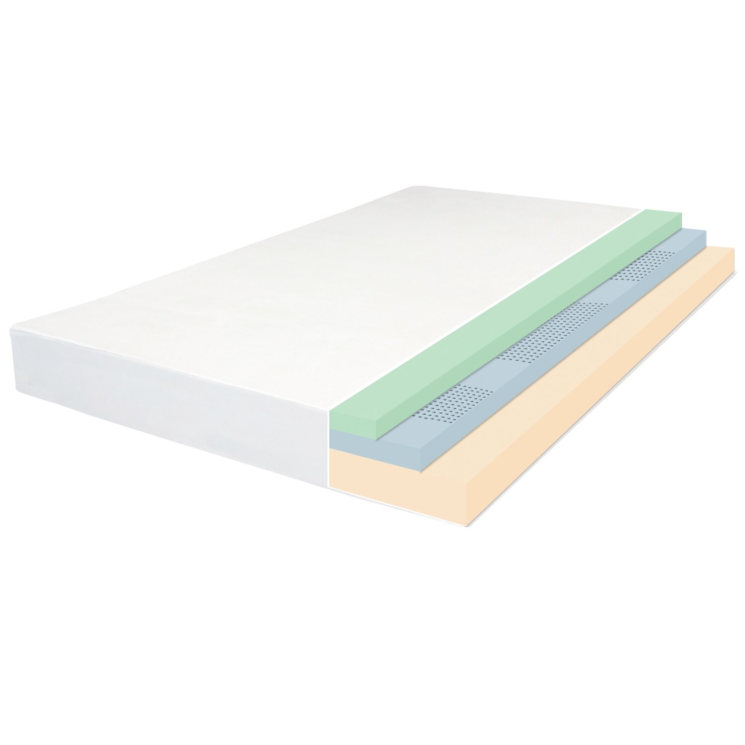 Orthotherapy 8 Memory Foam Mattress And Steel Foundation Set Reviews Wayfair