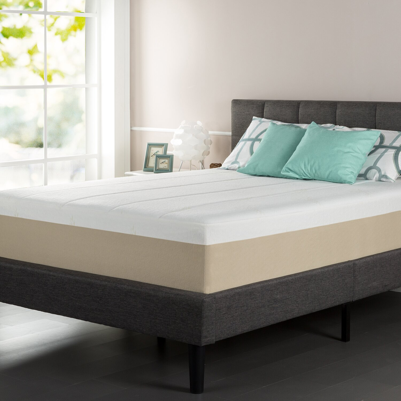Taluxe latex foam mattress
