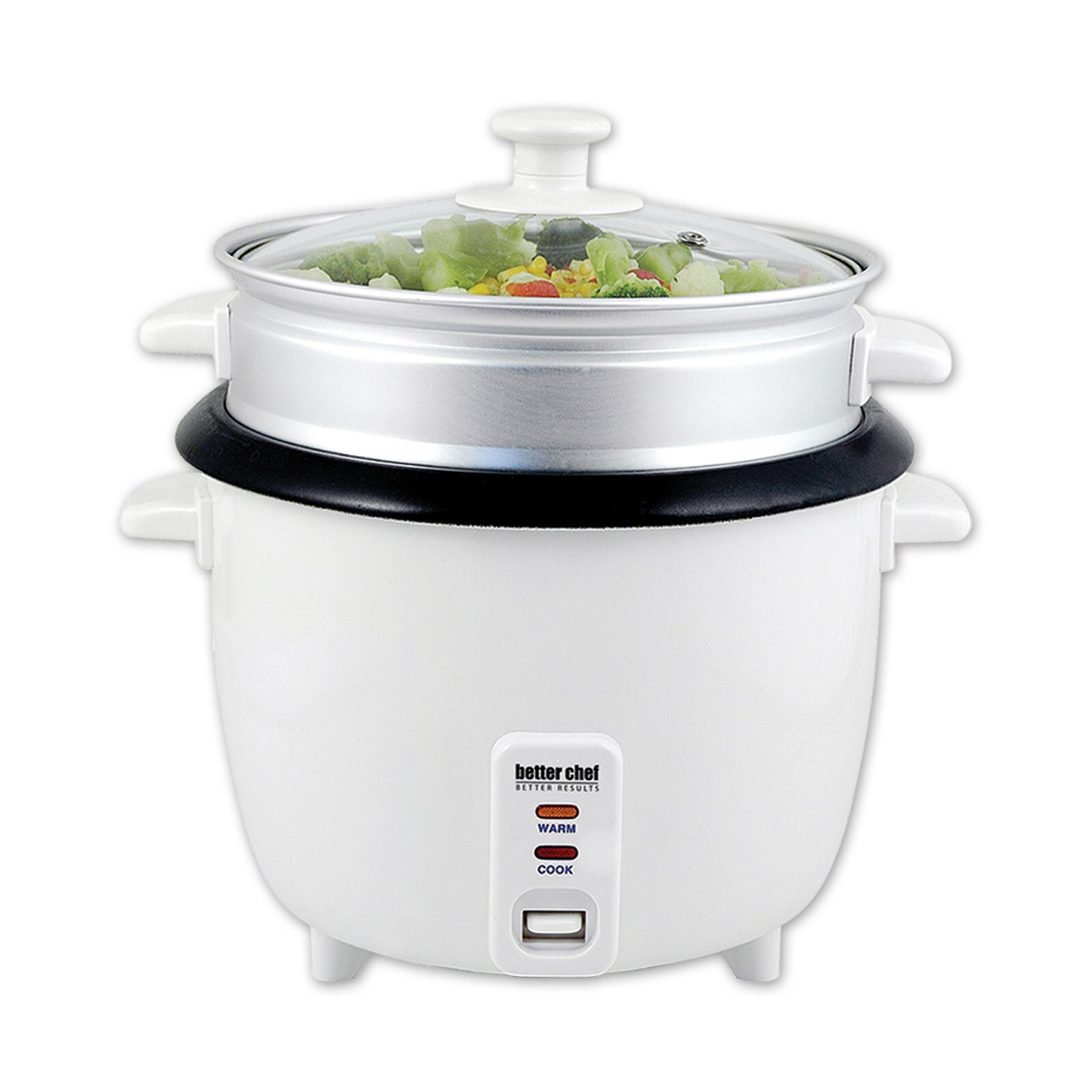 Kitchen Living Food Steamer: Better Chef Rice Cooker With Food Steamer & Reviews