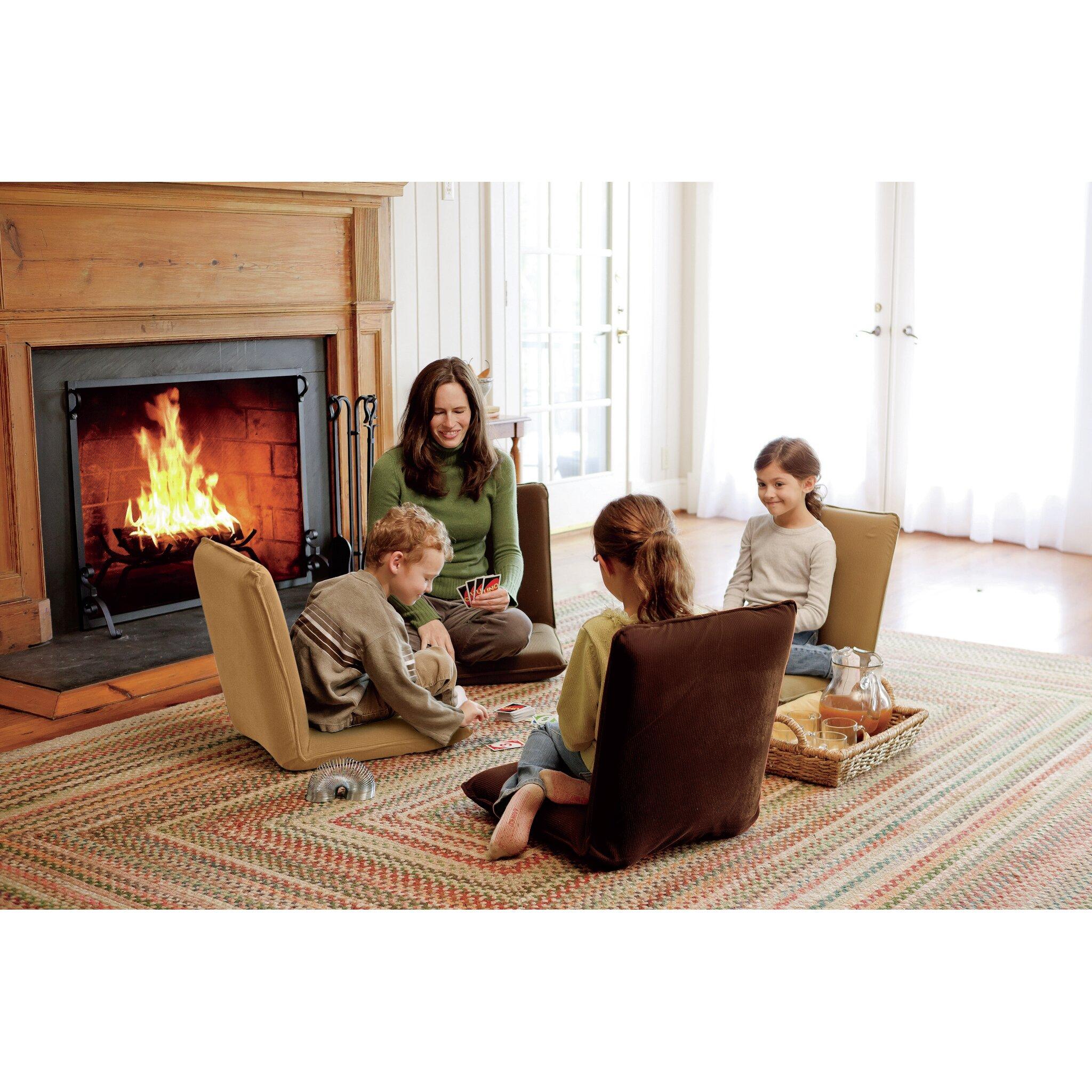 Plow hearth angle kids floor cushion reviews wayfair for Floor kids review