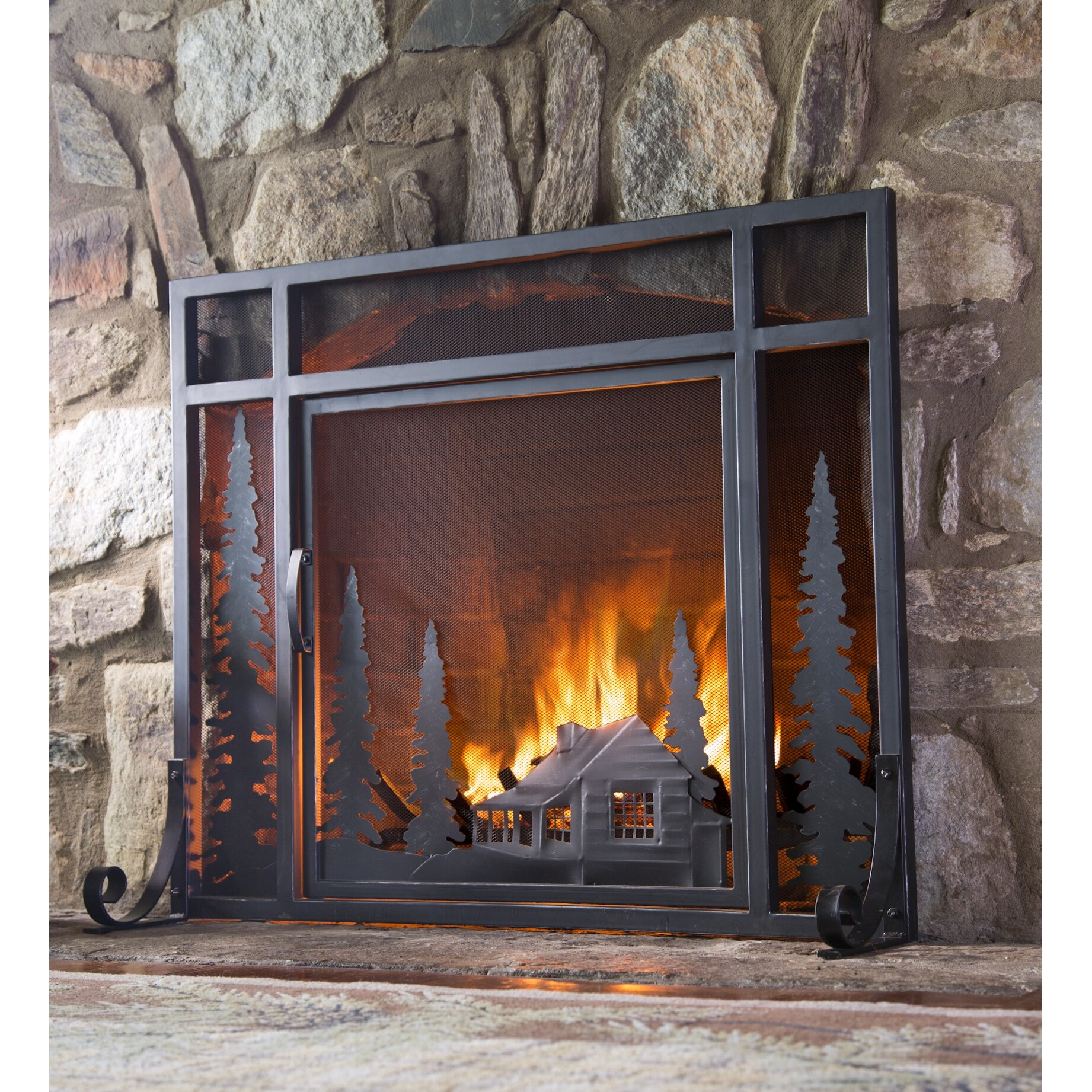 small decorative fireplace screens instadecor us