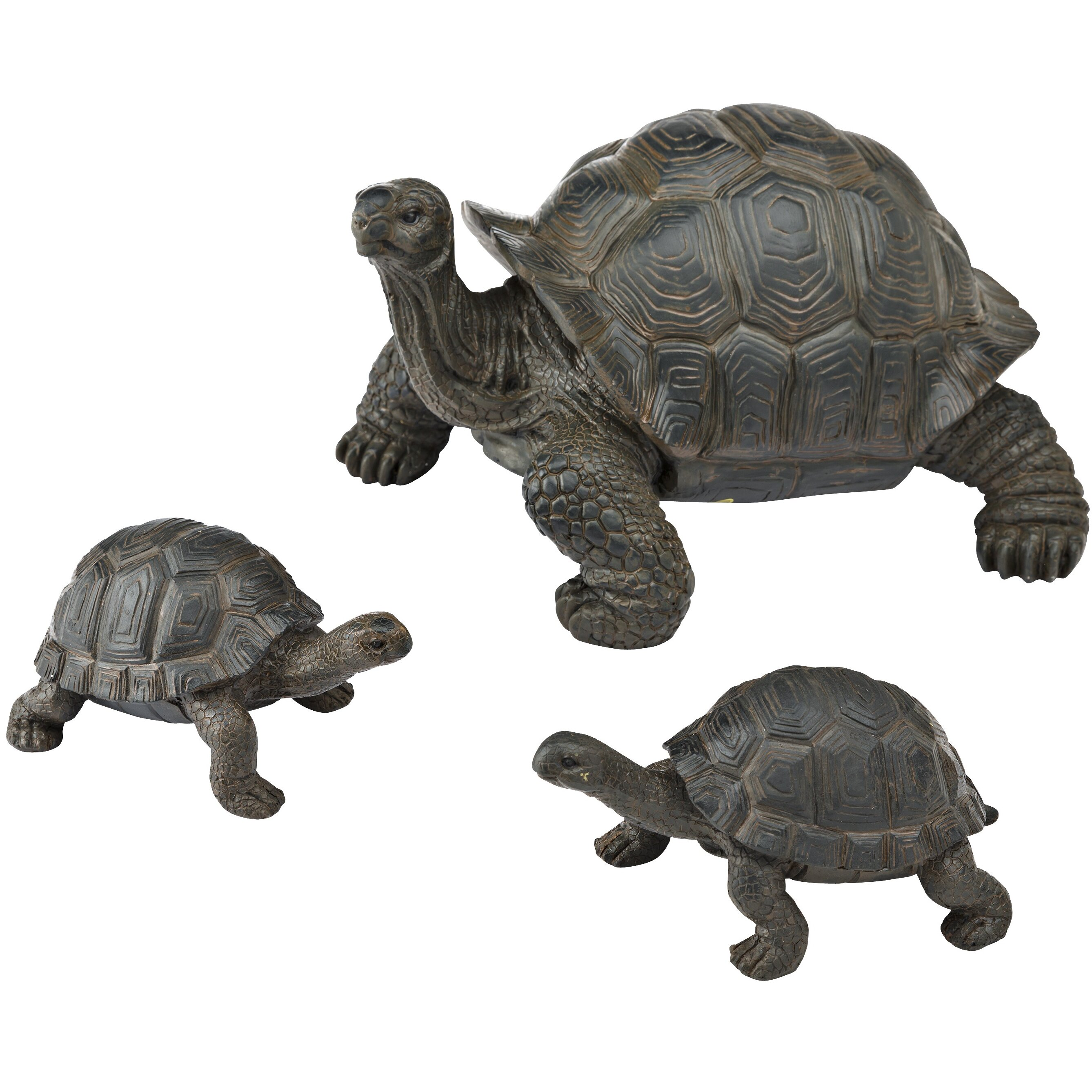 Plow amp Hearth Tortoise Family Resin Garden Accents Statue  : Tortoise Family Resin Garden Accents 53562 from www.wayfair.com size 2675 x 2675 jpeg 840kB