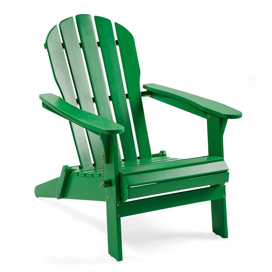 Plow Amp Hearth Wooden Adirondack Chair Amp Reviews Wayfair