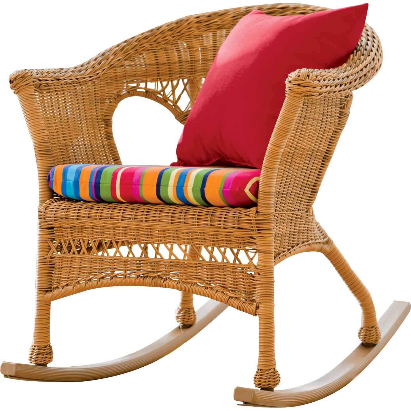 Plow Amp Hearth Easy Care Rocking Chair Amp Reviews Wayfair