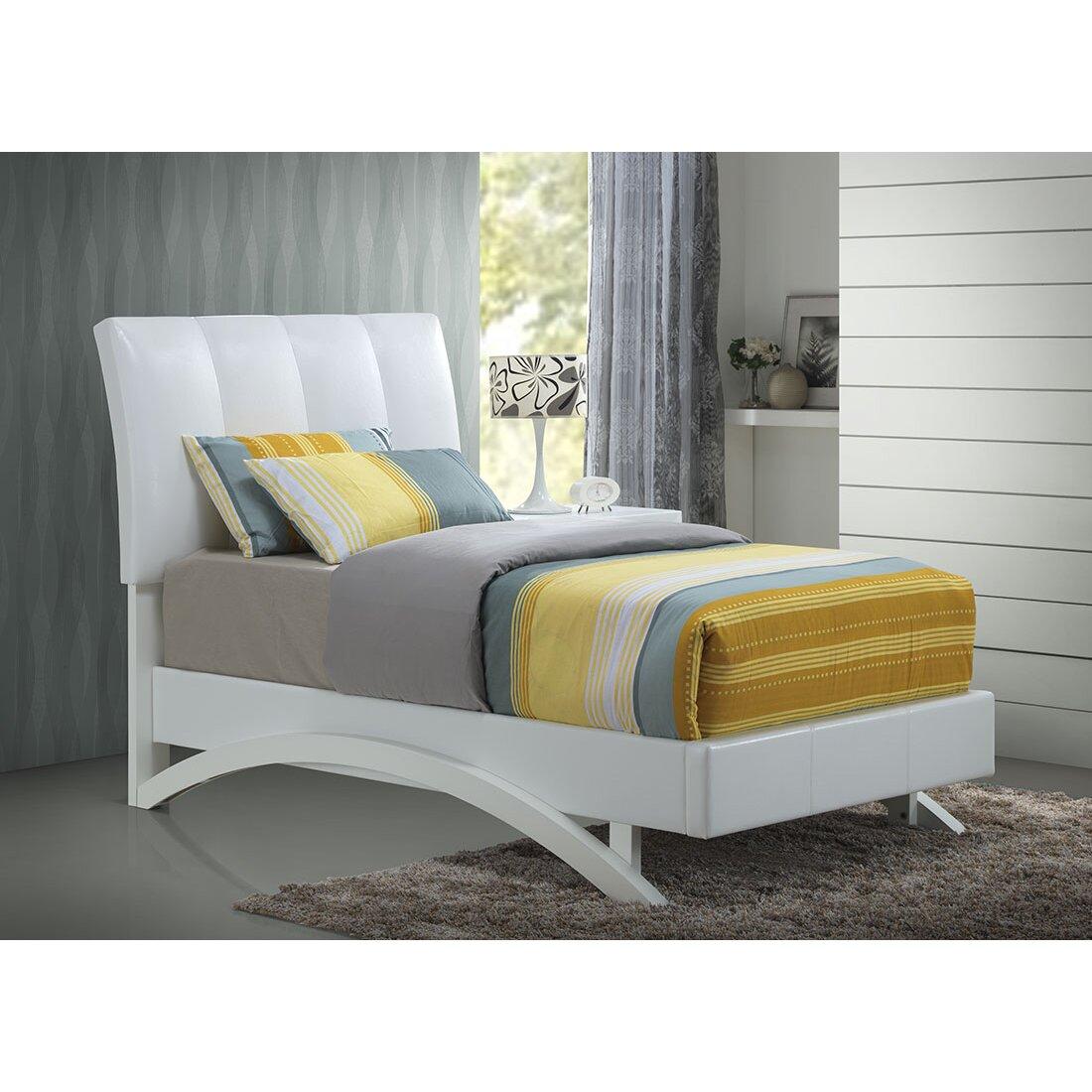 Archers Bedroom Furniture Archer Upholstered Platform Bed Reviews Wayfair Ca