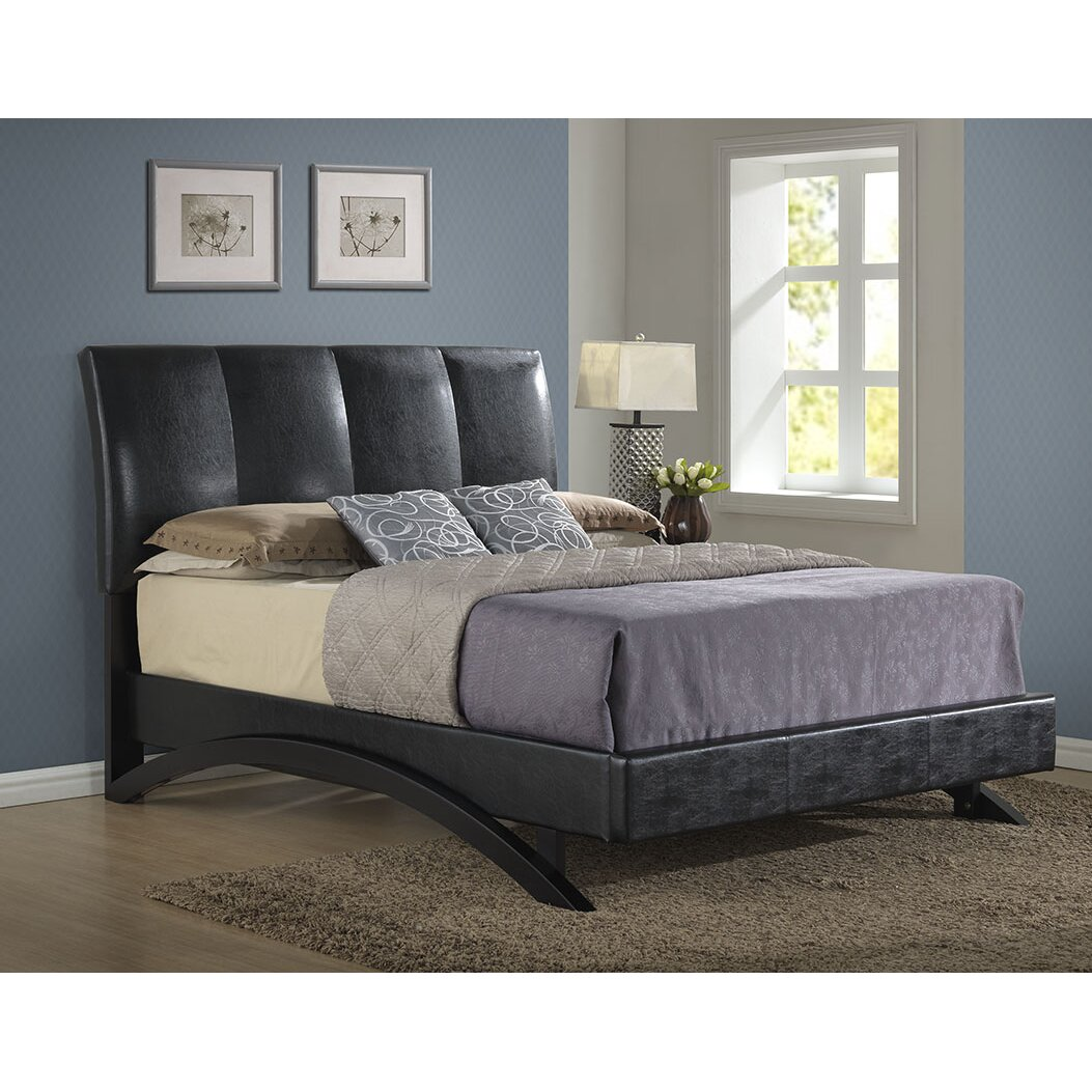 Archers Bedroom Furniture Archer Upholstered Platform Bed Reviews Wayfair