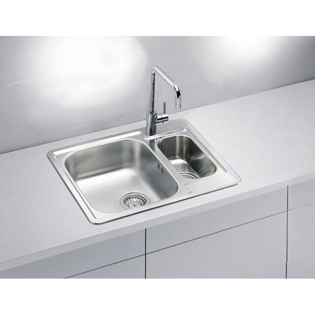 Alveus Alveus Line 50 61.5 cm x 50 cm Kitchen Sink Wayfair UK