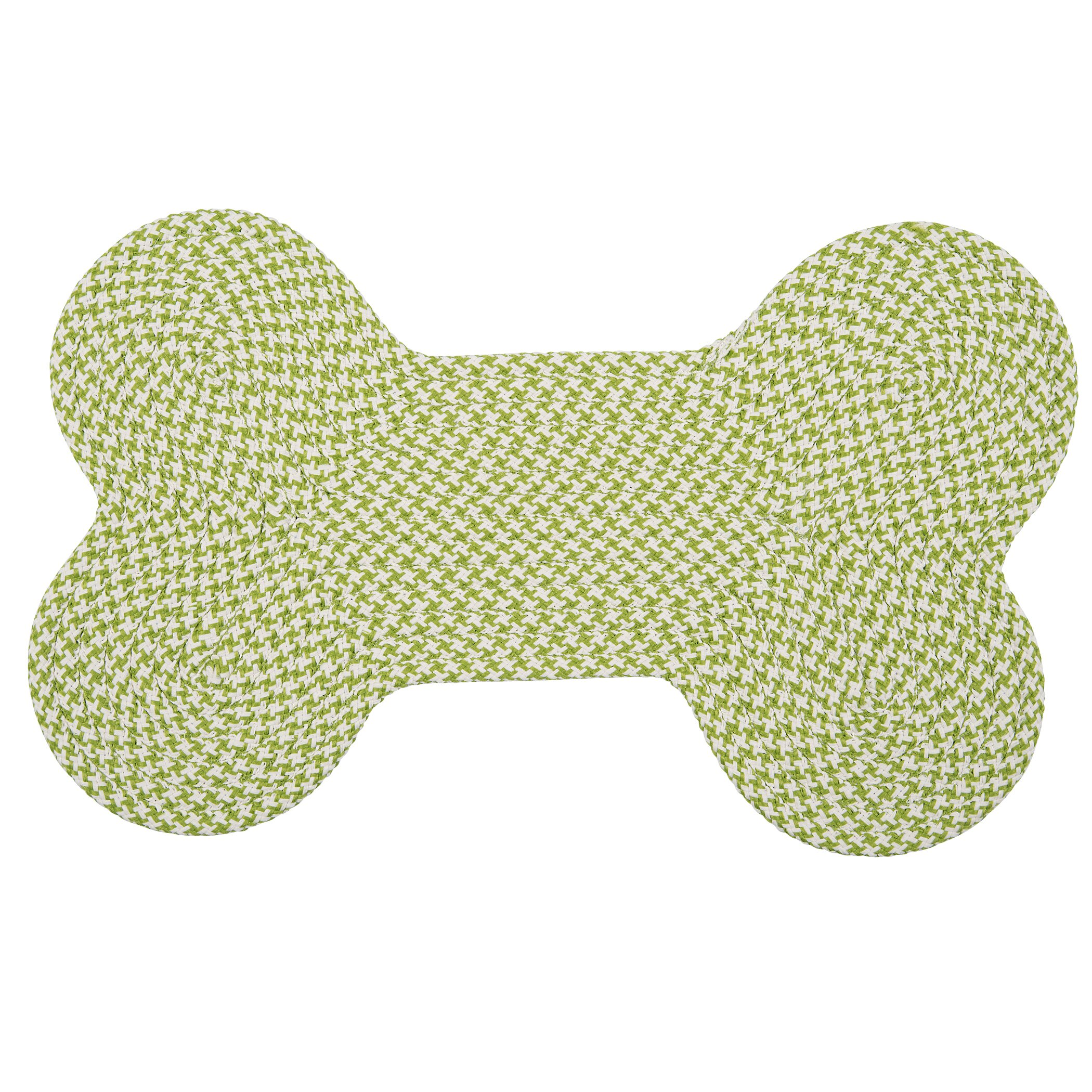 Dog Bone Pet Rug: Colonial Mills Dog Bone Houndstooth Bright Pet Mat