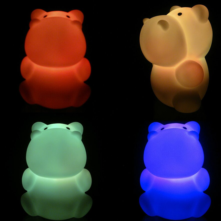 Kushies Baby Hippo Led Night Light Reviews