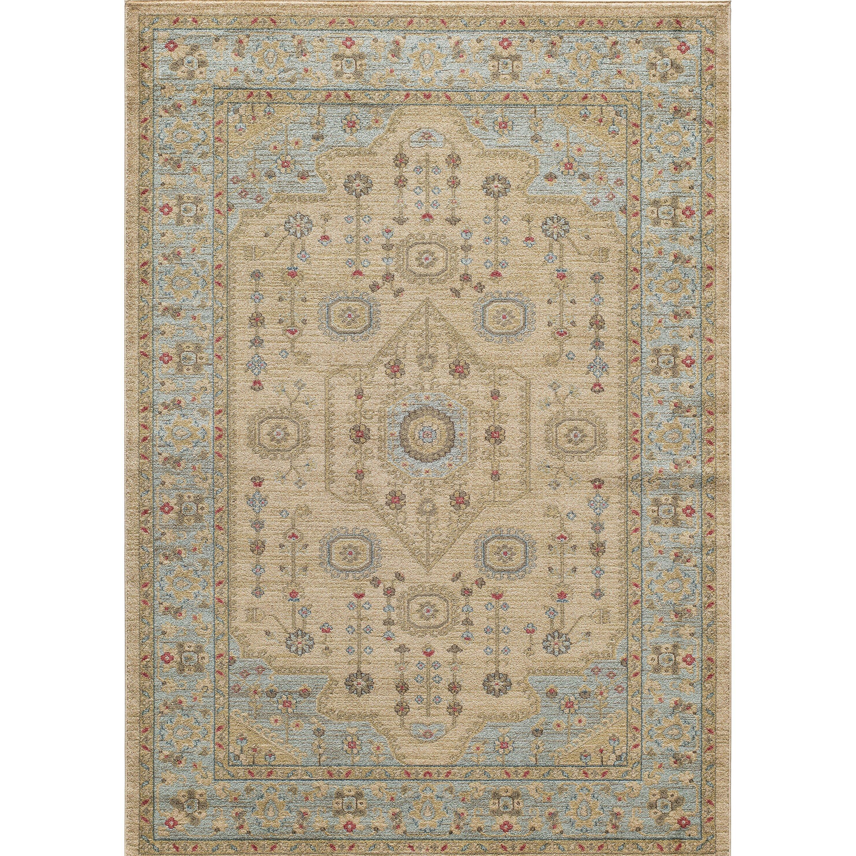 Momeni ghazni beige area rug wayfair for Momeni rugs