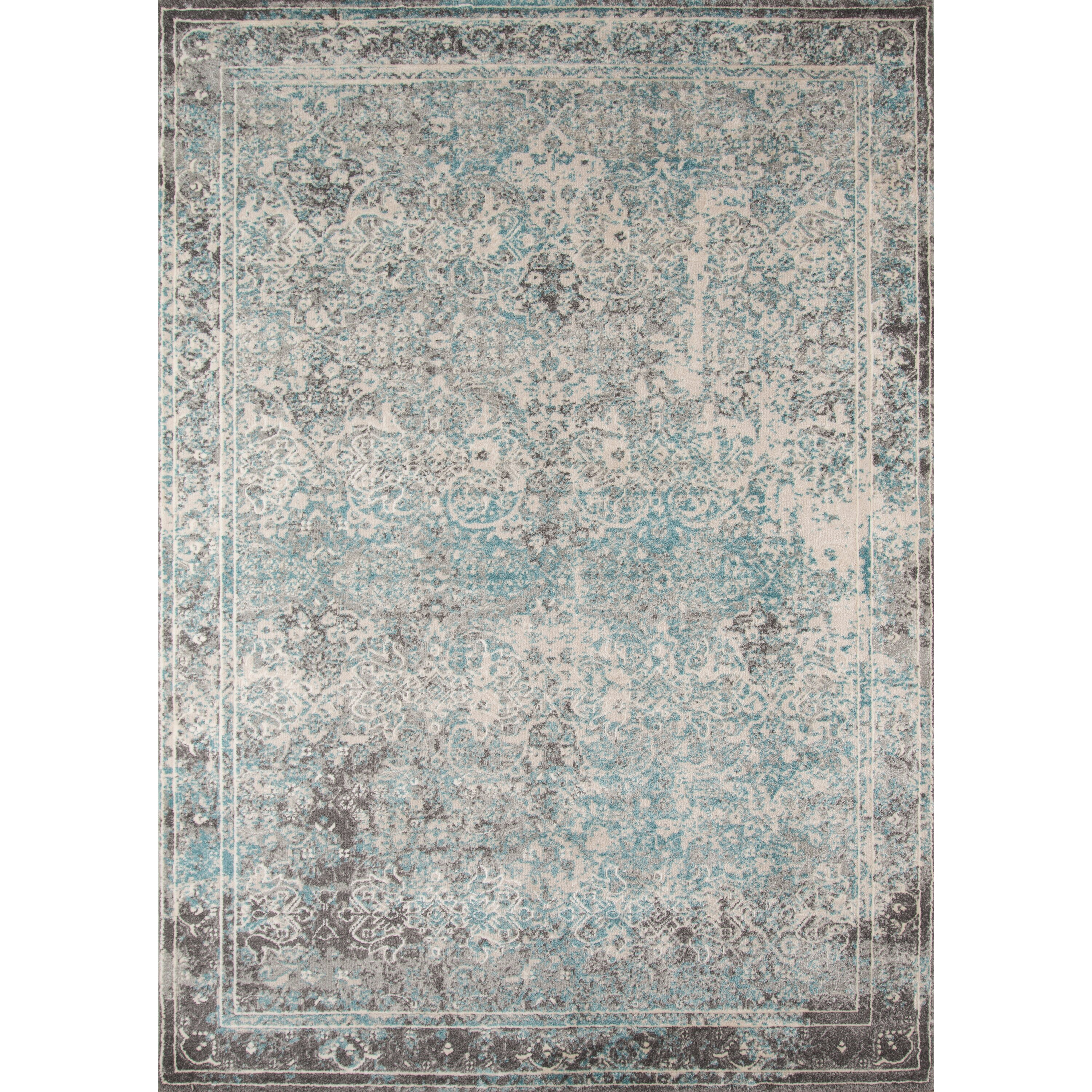 Saleya Turquoise Area Rug: Bungalow Rose Daisie Turquoise Area Rug & Reviews