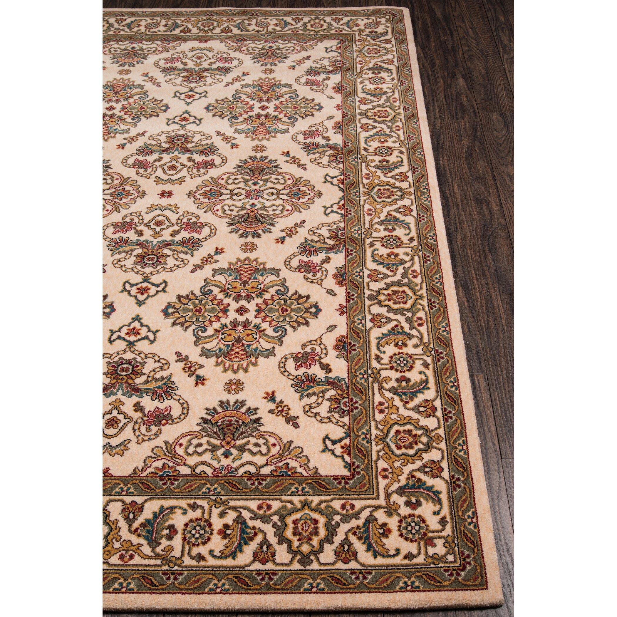 Momeni persian garden ivory area rug reviews wayfair for Momeni rugs